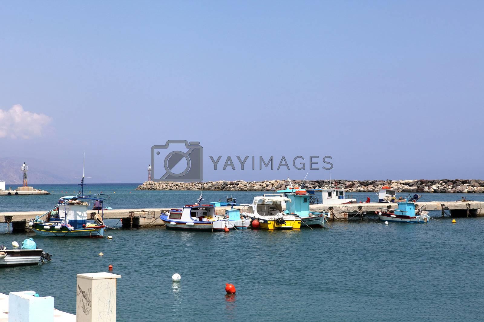 Kardamena resort and port on the island of Kos