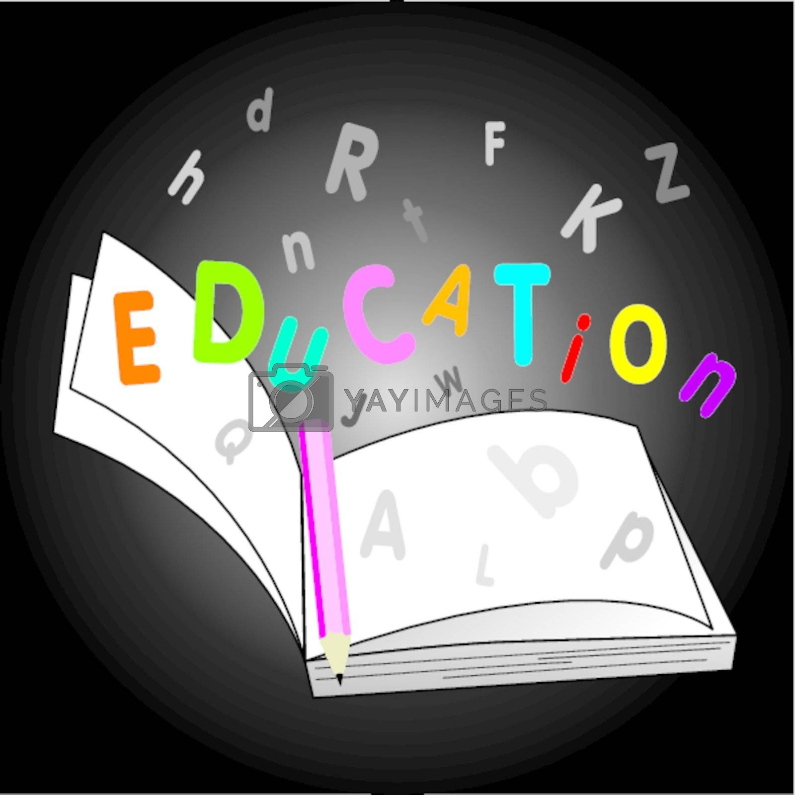 Education Book by Myimagine