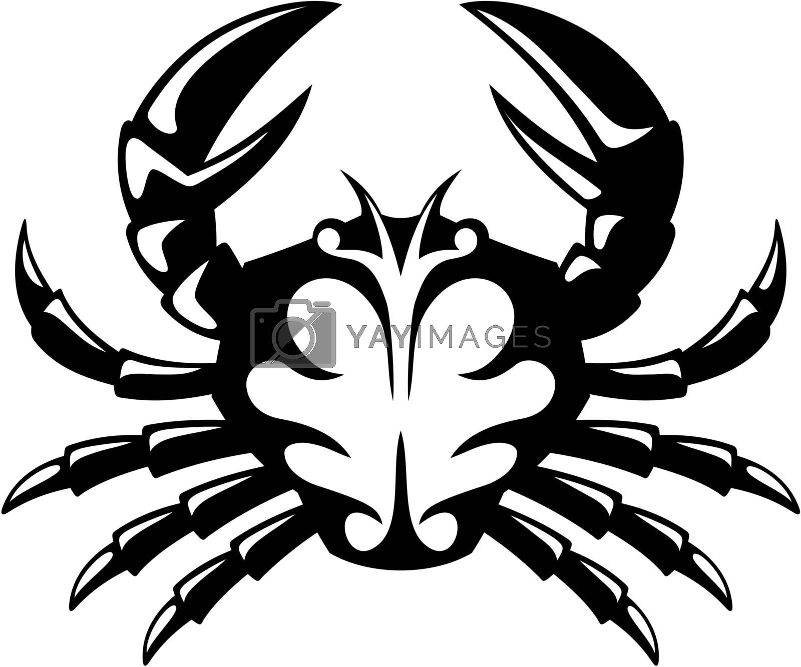 Crab icon by sifis