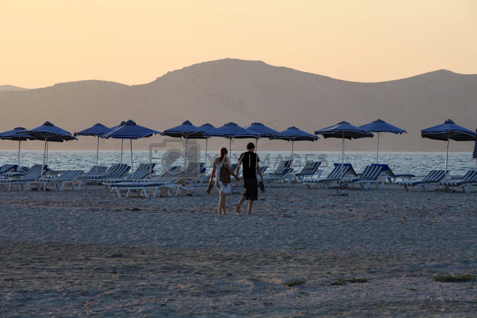 Greece. Kos island. Tigaki beach.
