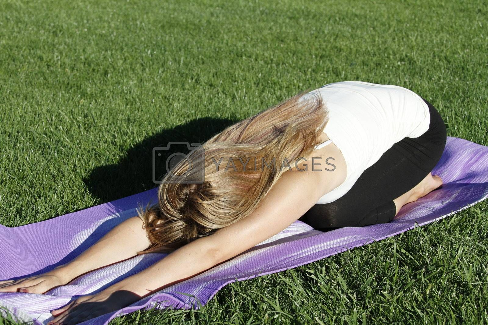 Yoga in the park by aruns911