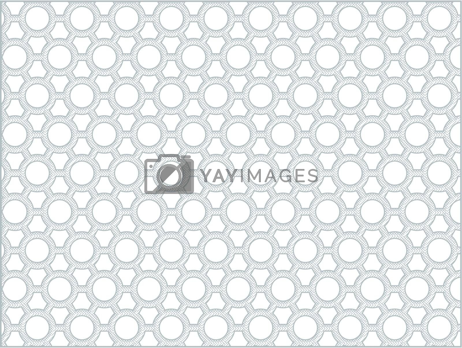 Abstract vector background - geometric monochrome pattern