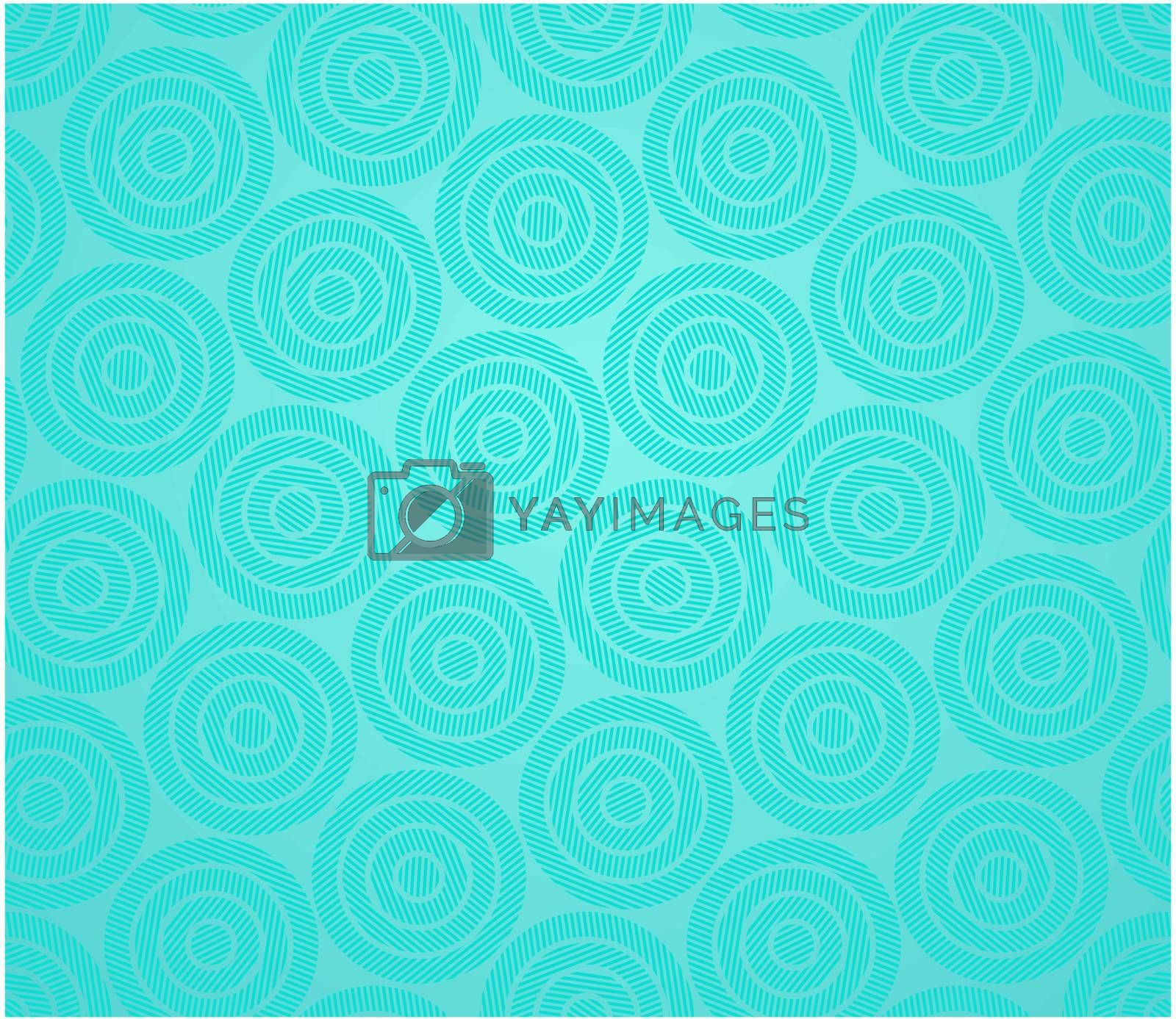 The monochrome abstract green background
