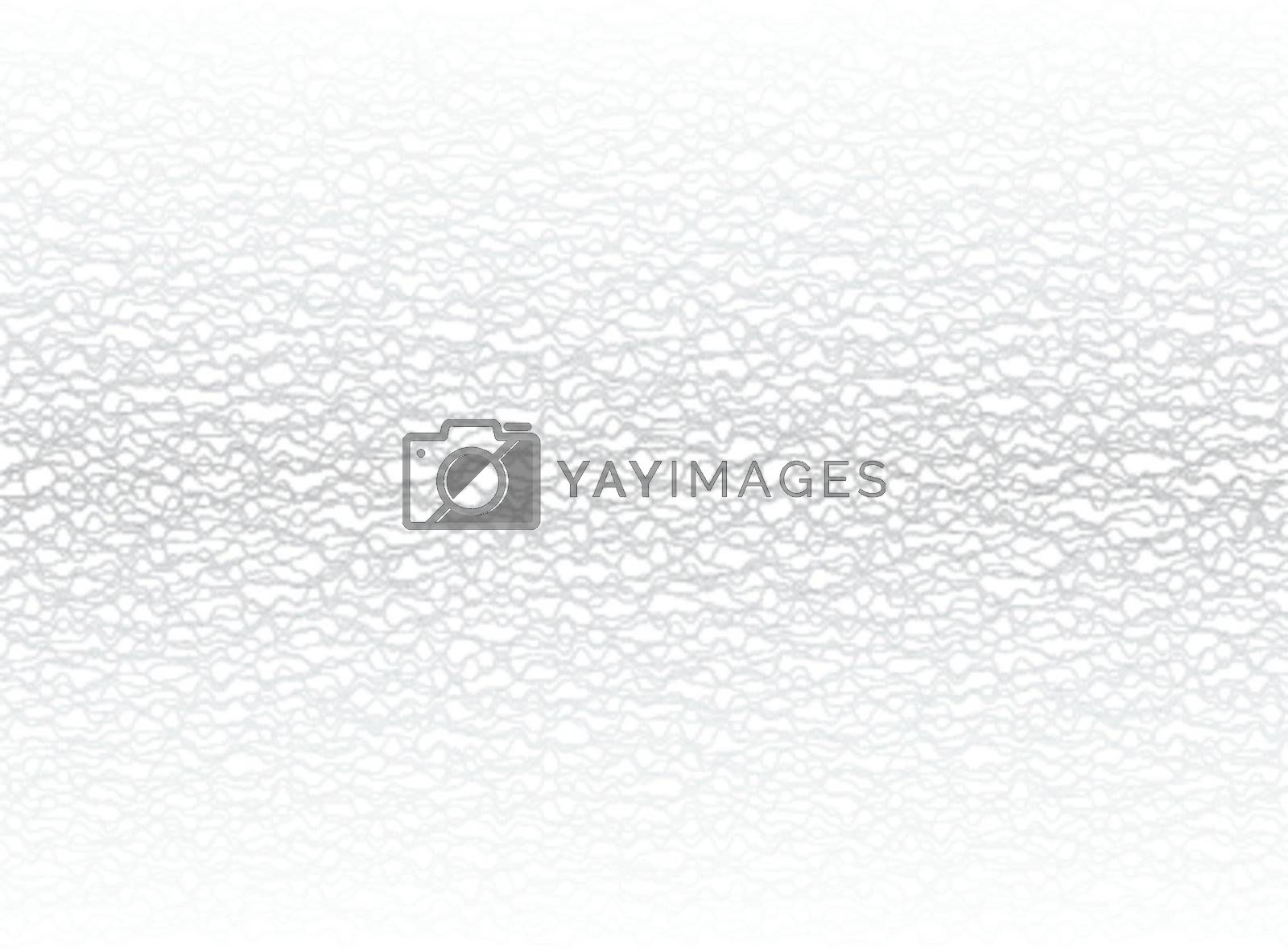 Simple graphical vector background - silver waves