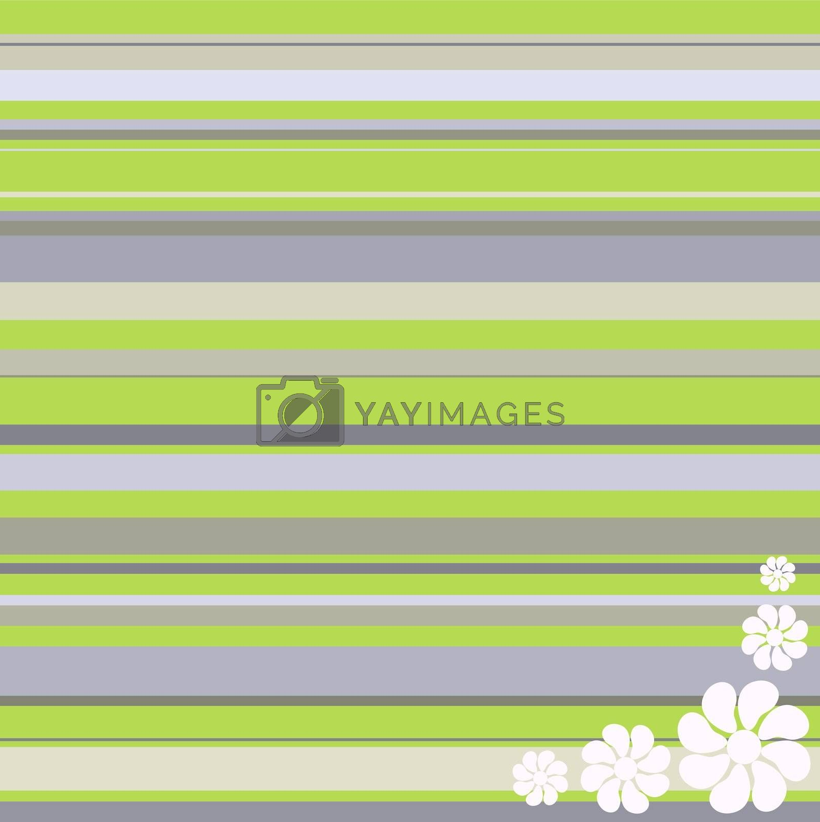 fine vintage background with white flowers