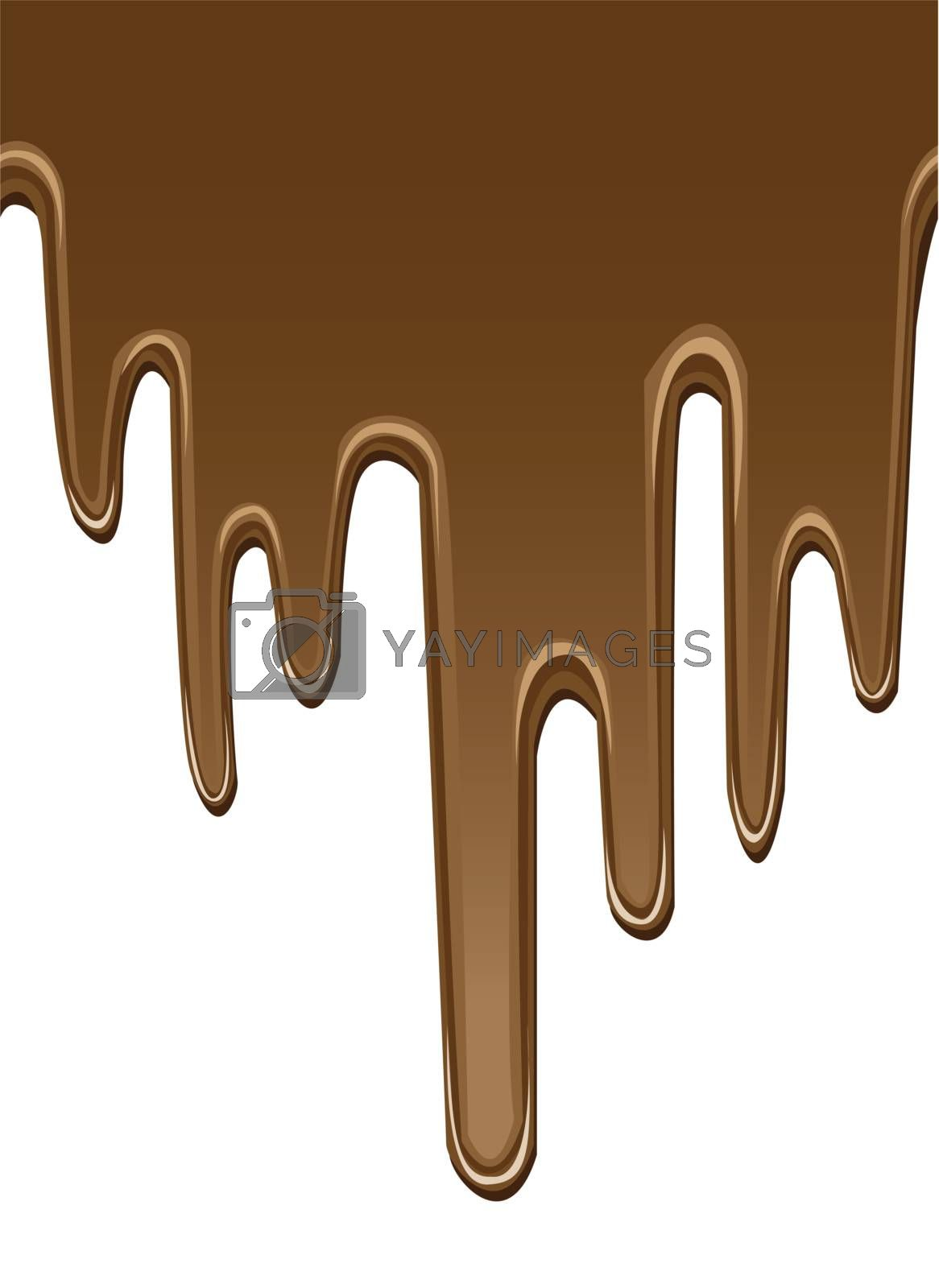 seamless melted chocolate backgrounds by mtkang