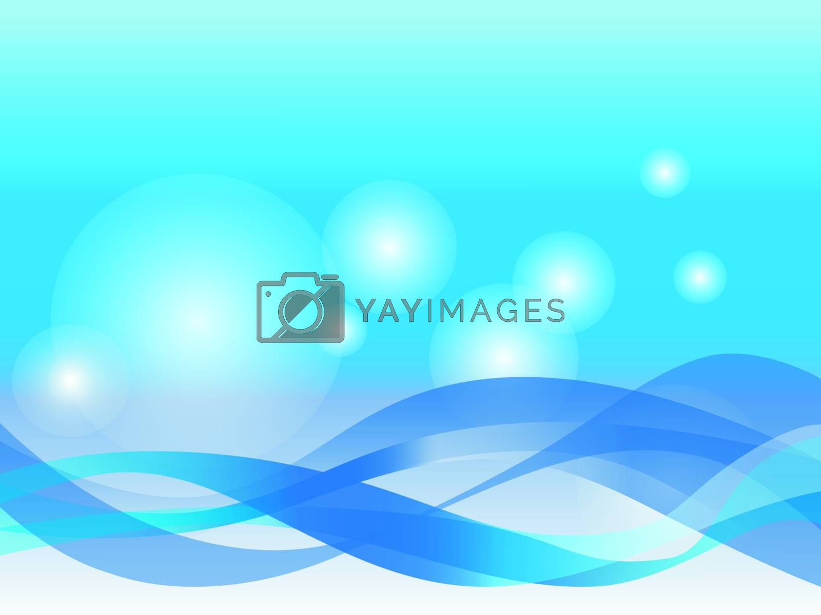 Sky Blue Background and        Abstract background