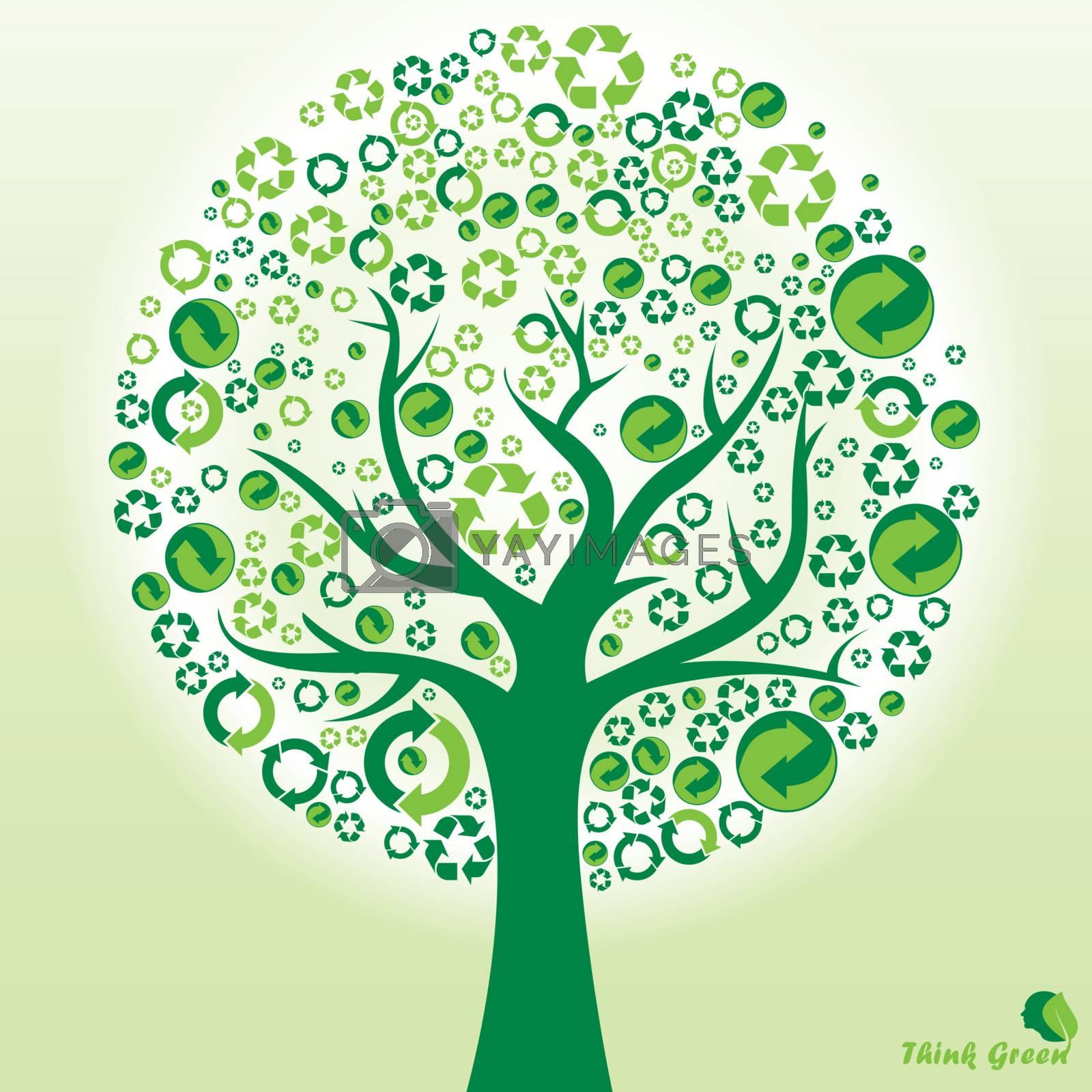 Tree recycle, renew, reuse symbols