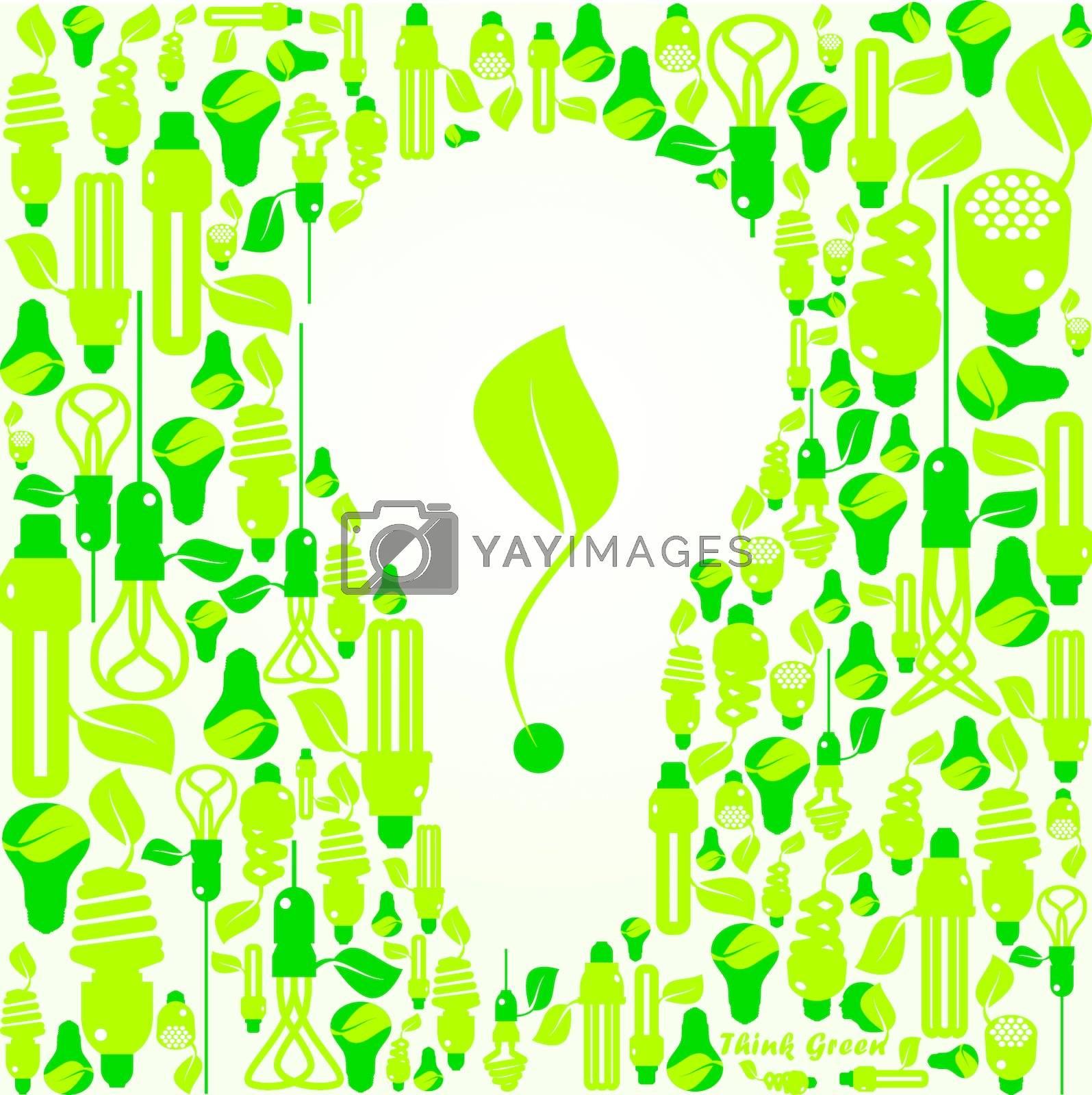 Variety of energy efficient lightbulbs