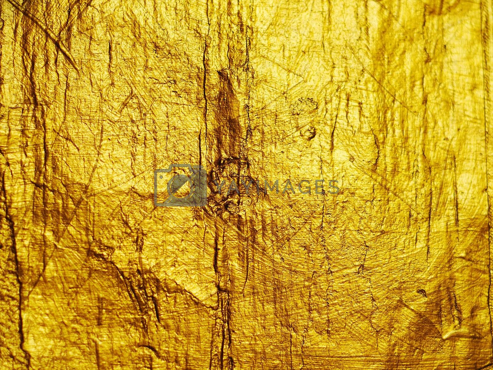 Luxury golden texture.Hi res background. by POMACHKA