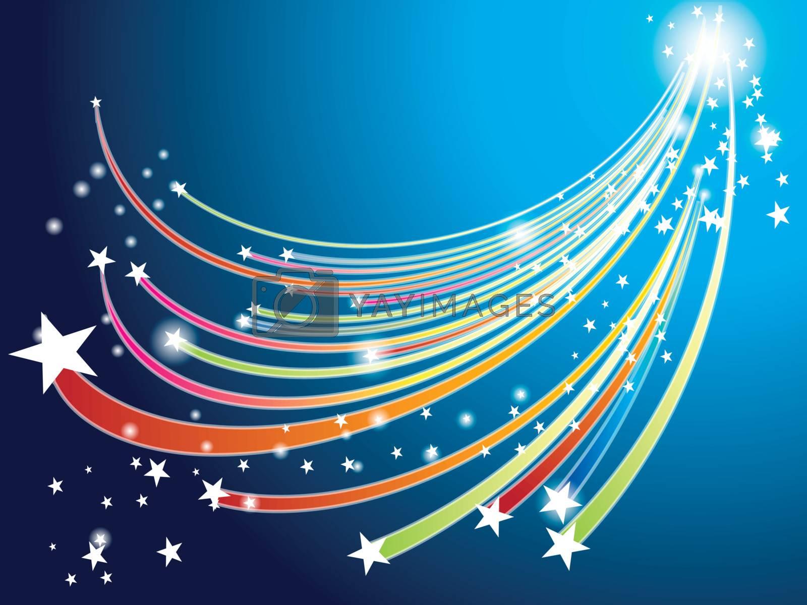 Stars dancing