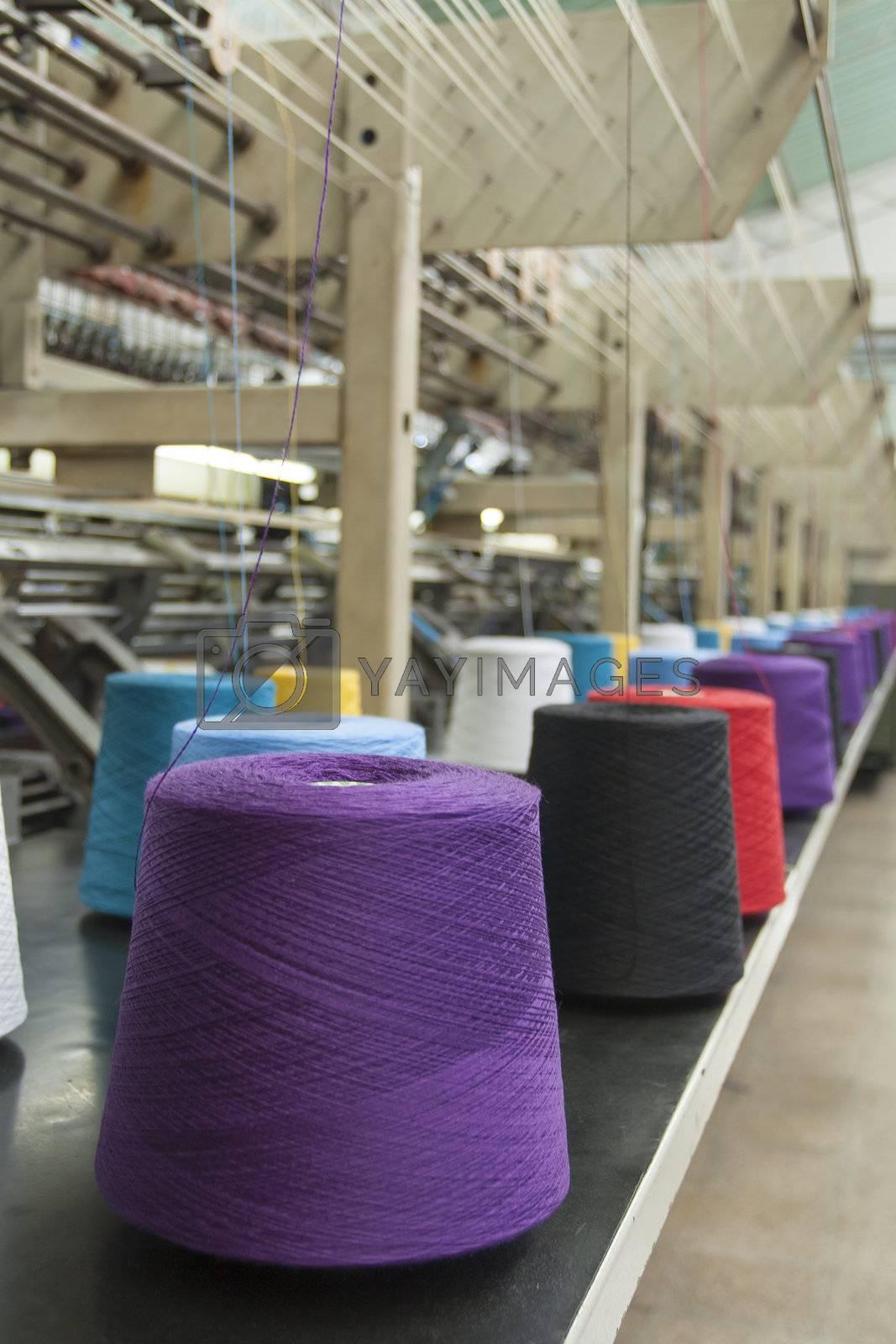 Textile Production - Weaving machine