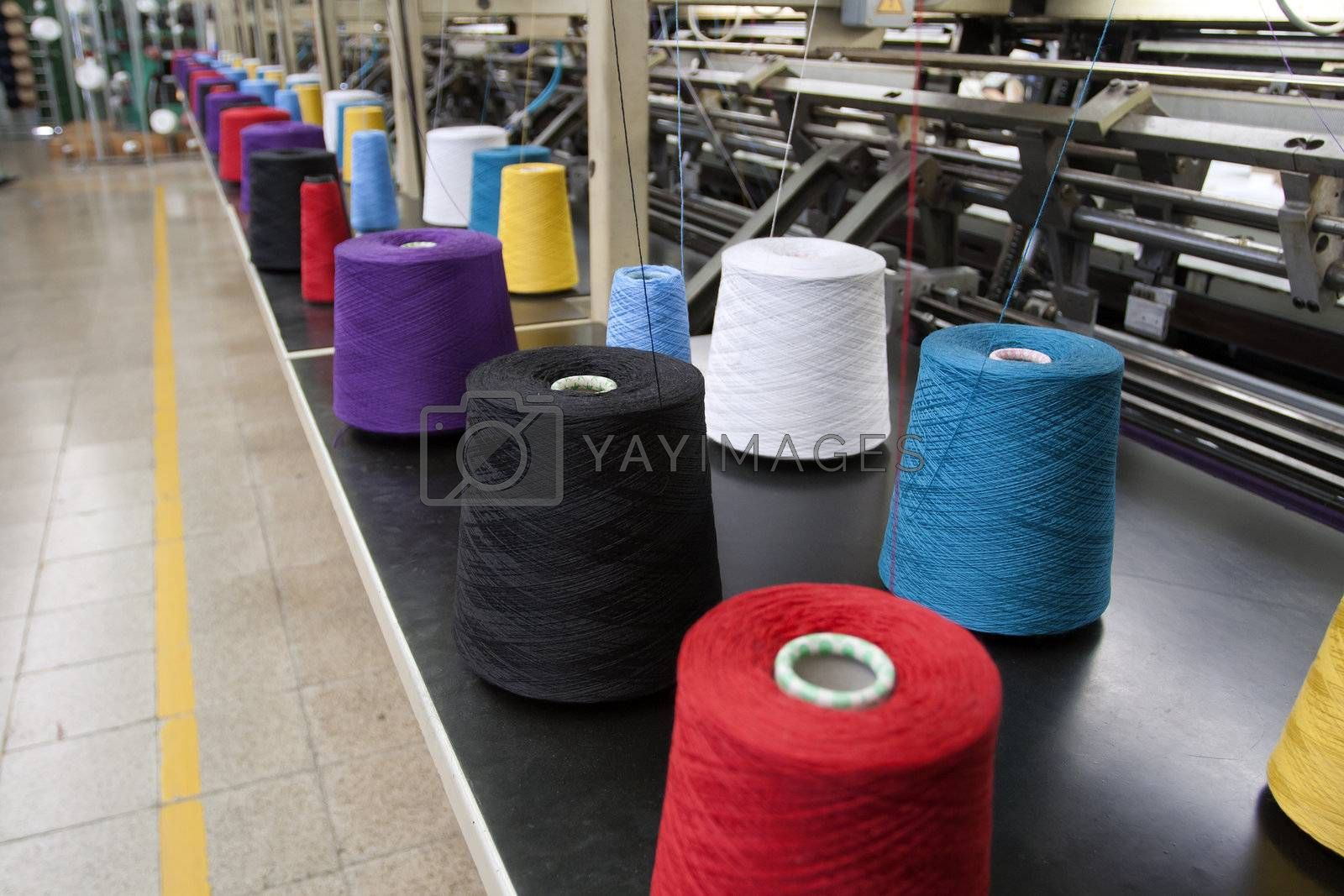 Textile Production - Weaving machine