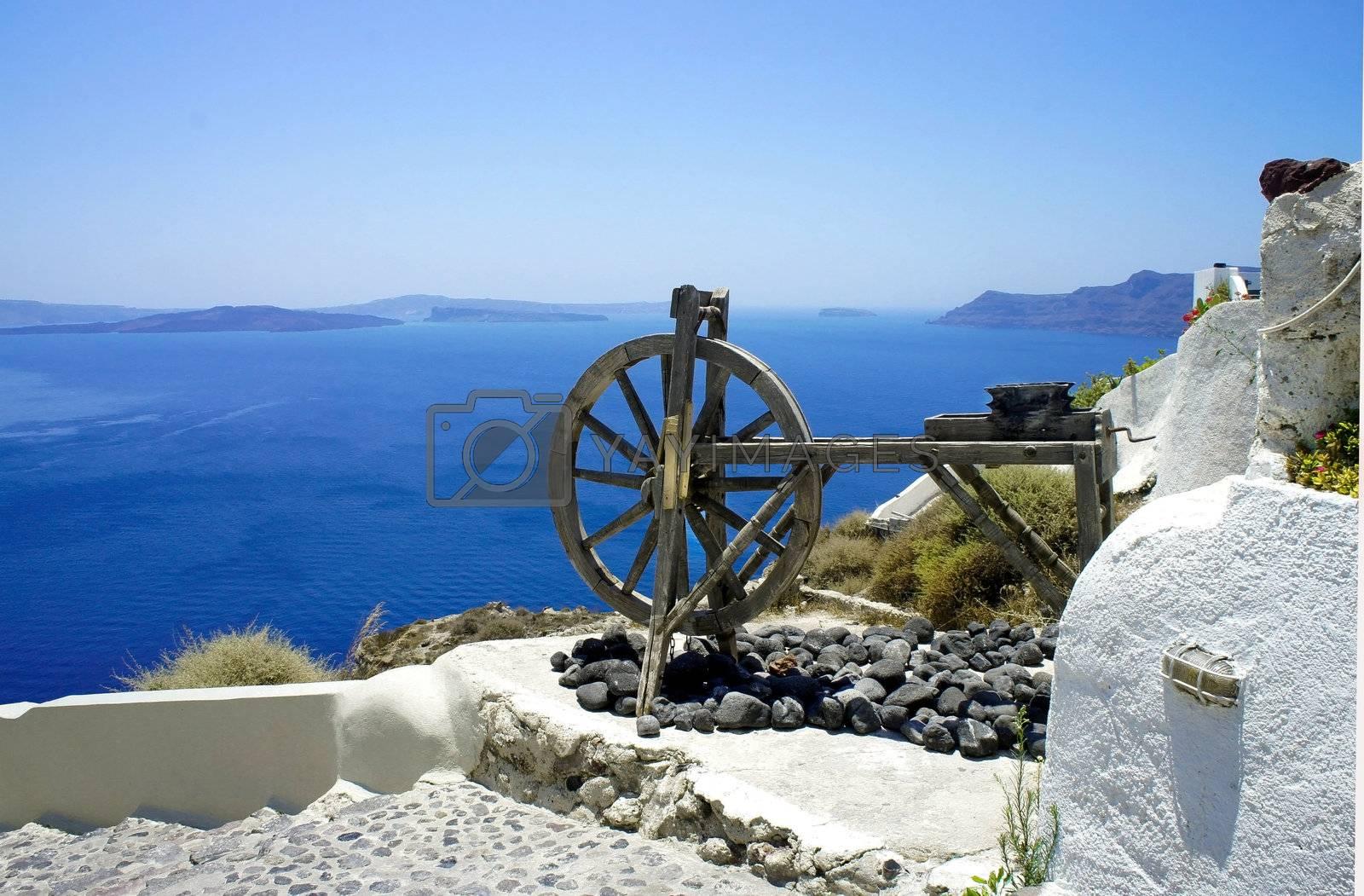 Santorini views