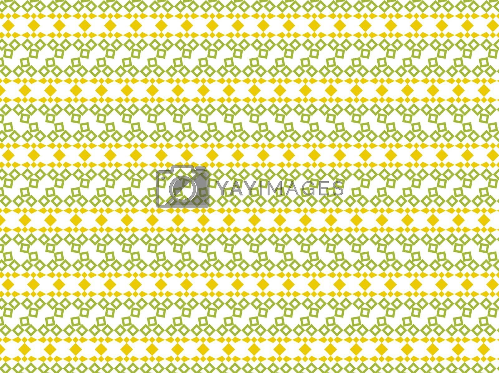 The abstract background made out of green and yellow elements
