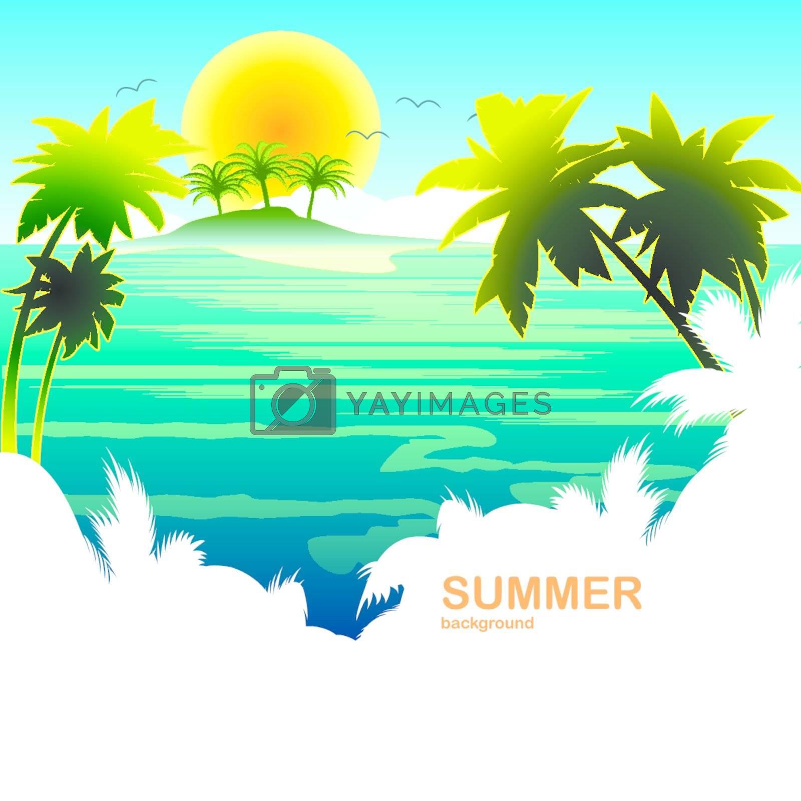 travel summer holiday tropical island sun