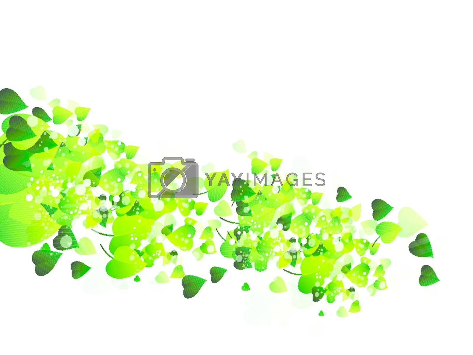 nature background Abstract fly leaves background