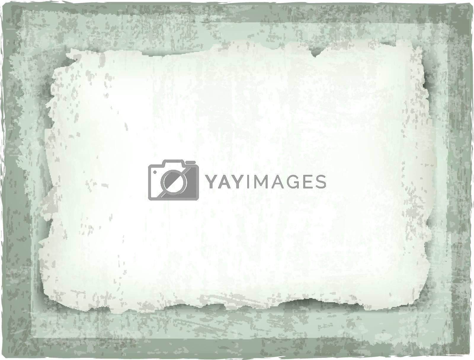 burned paper over grunge background