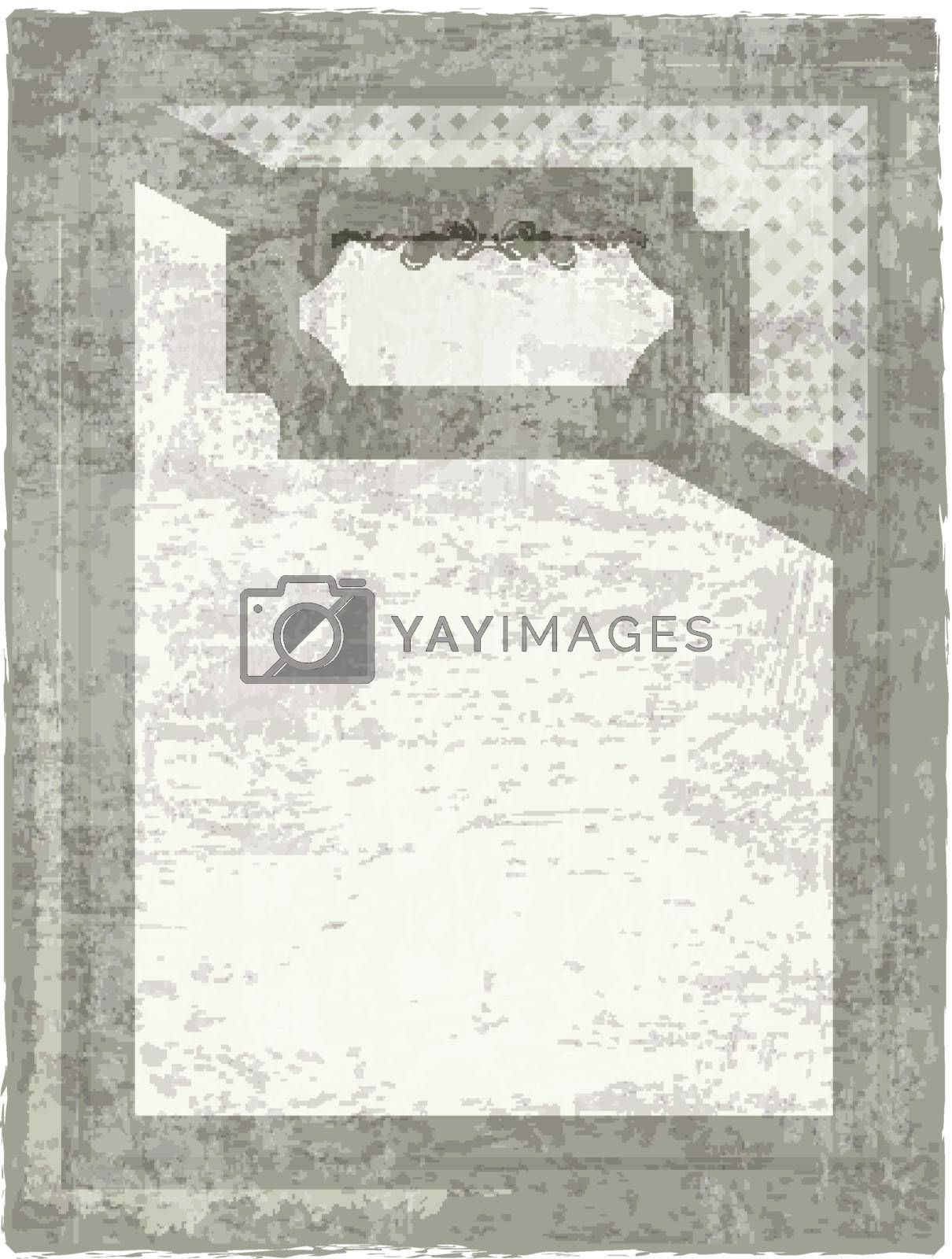 decorative grunge background with copyspace for your text