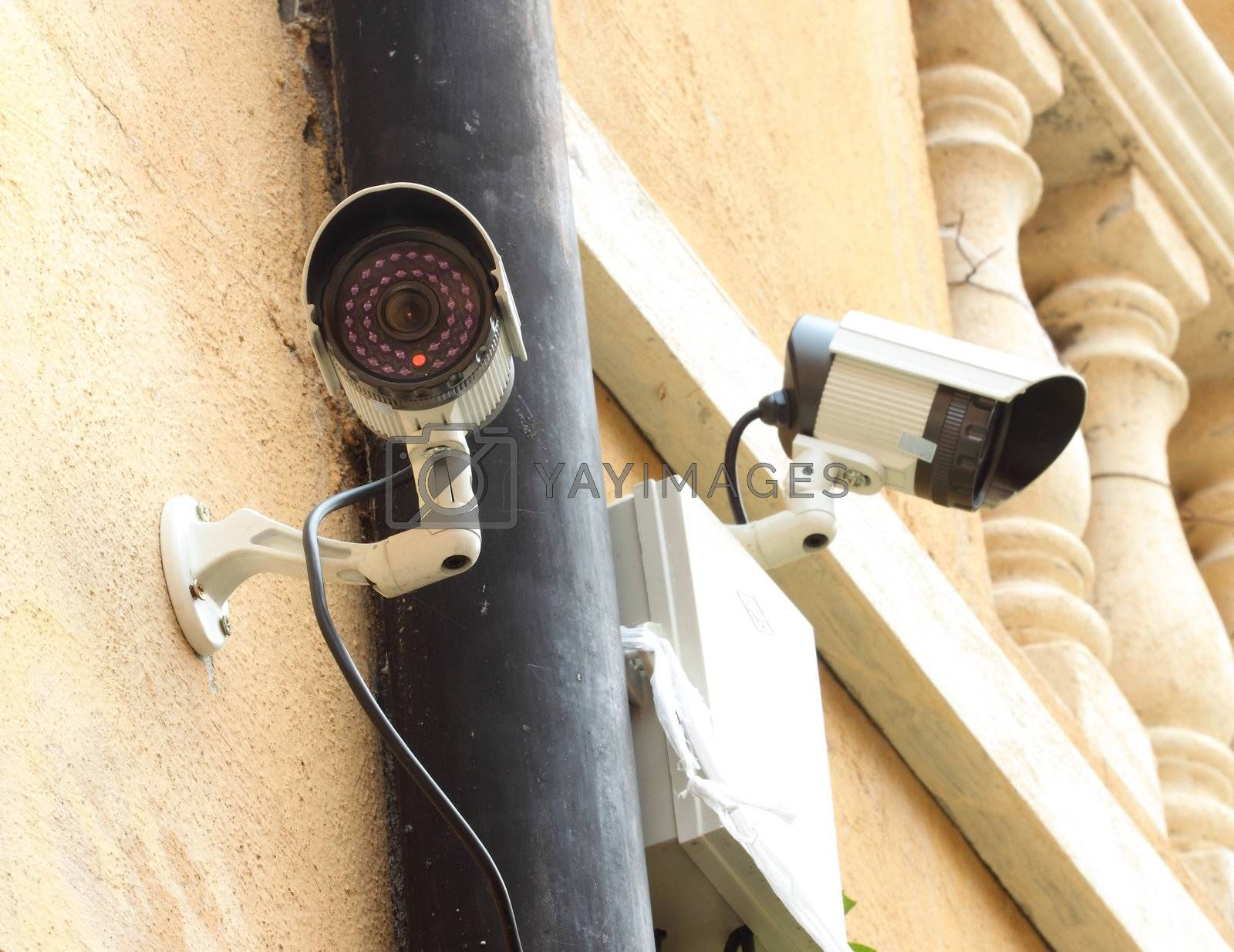 security camera CCTV and box control  by geargodz
