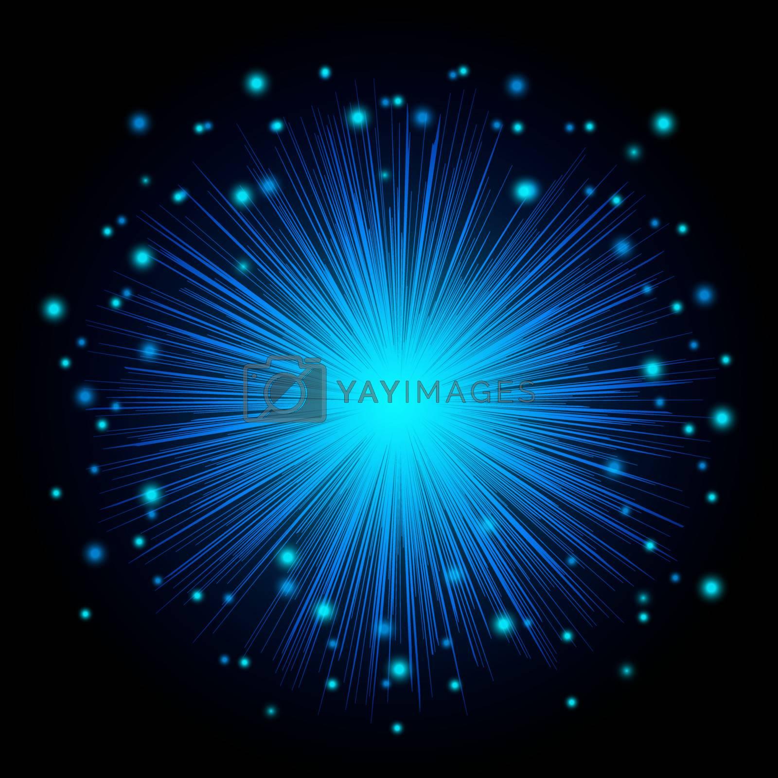 Abstract Led Lighting or Fiber Optical Lights