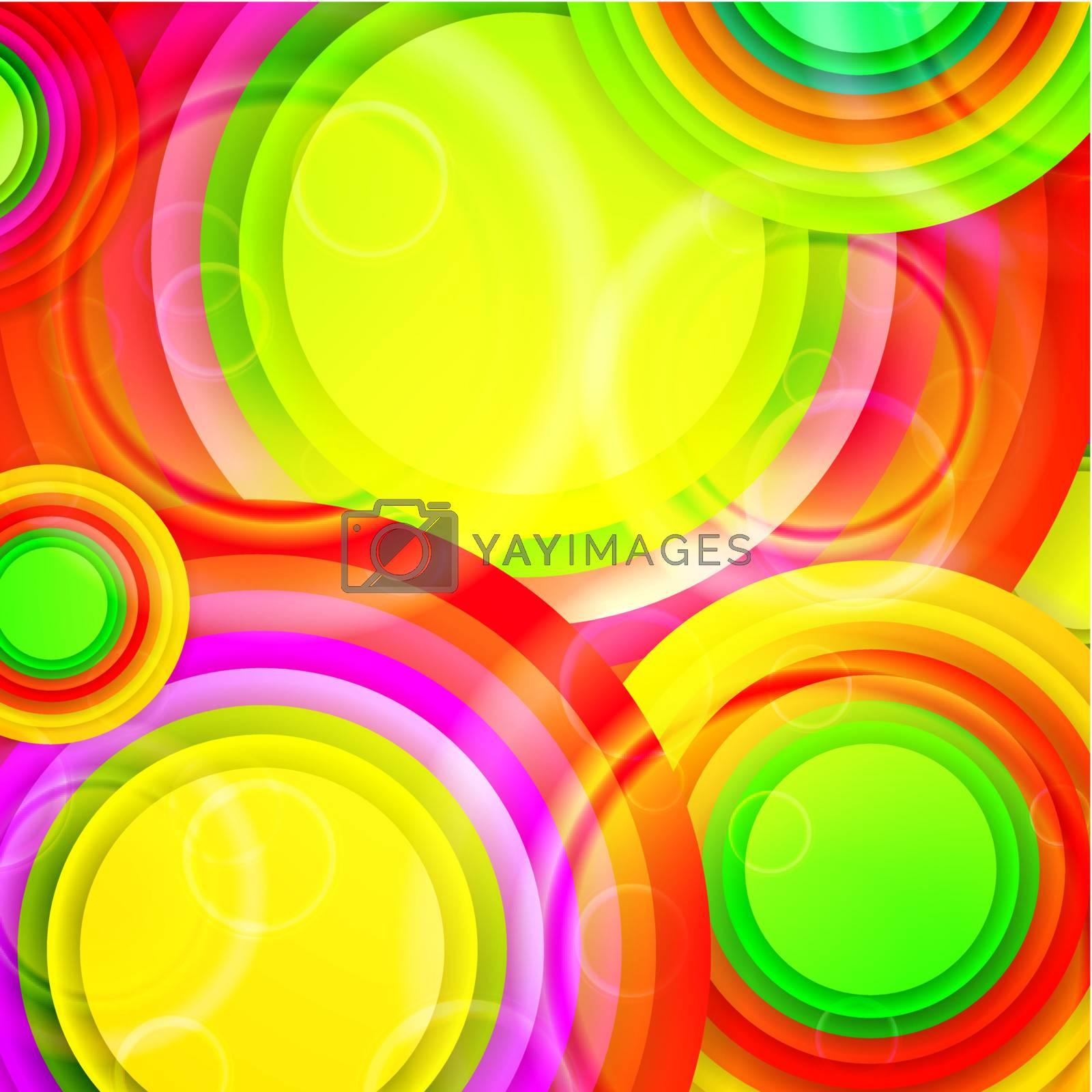 Royalty free image of multicolored background by razvodovska