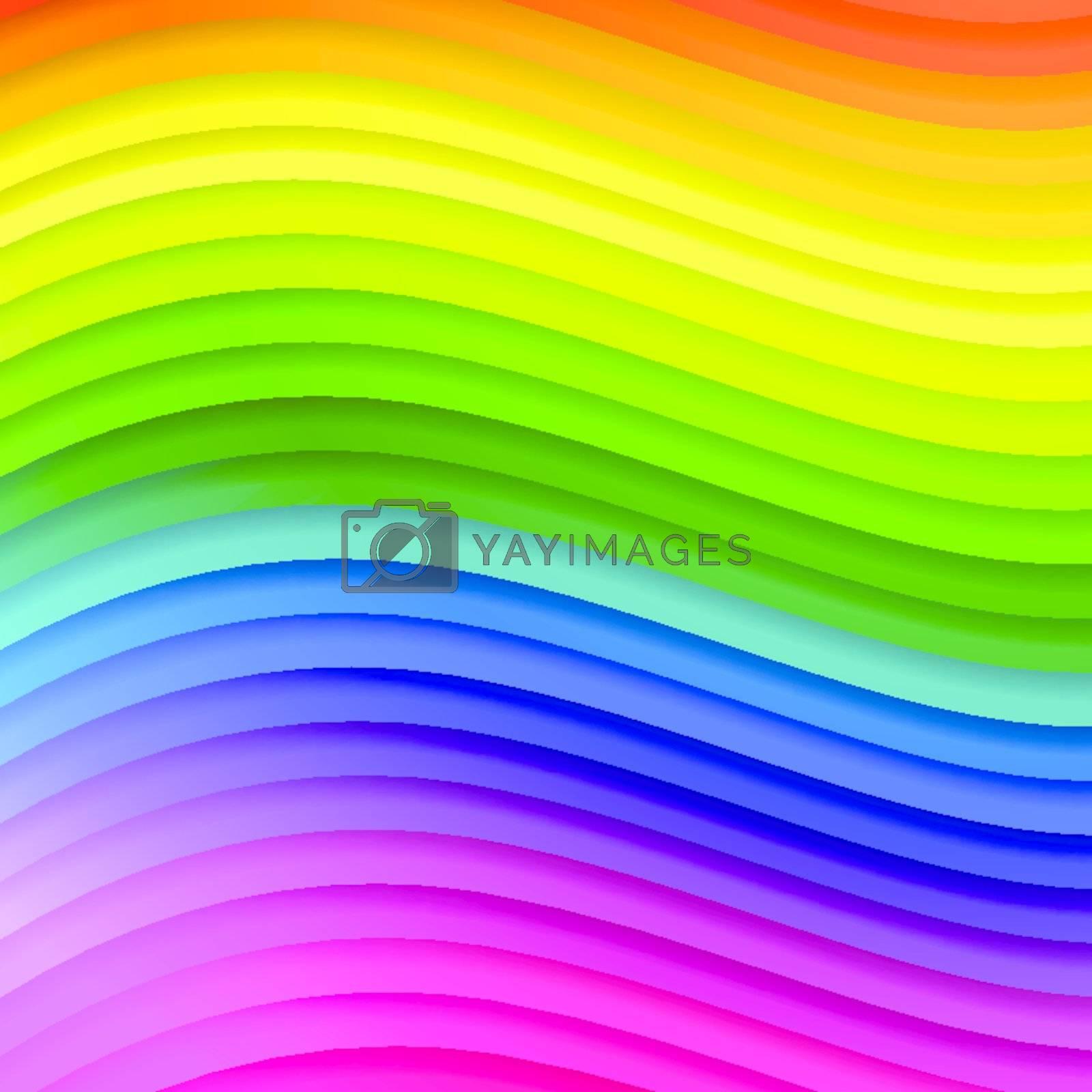 abstract multicolored background  by razvodovska