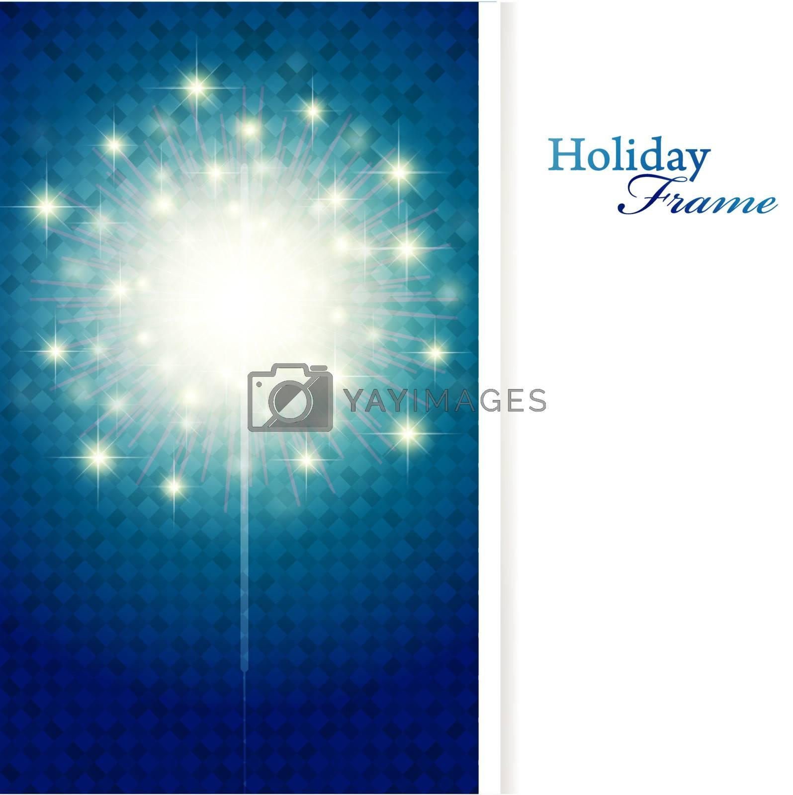 Royalty free image of holiday frame by razvodovska
