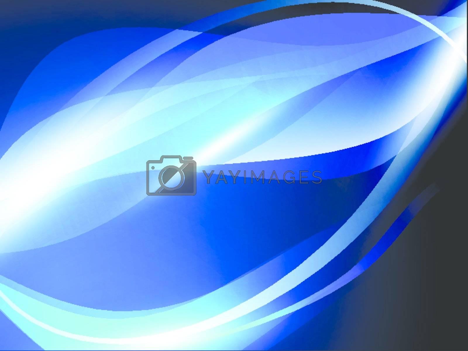 Royalty free image of iced blue  by razvodovska