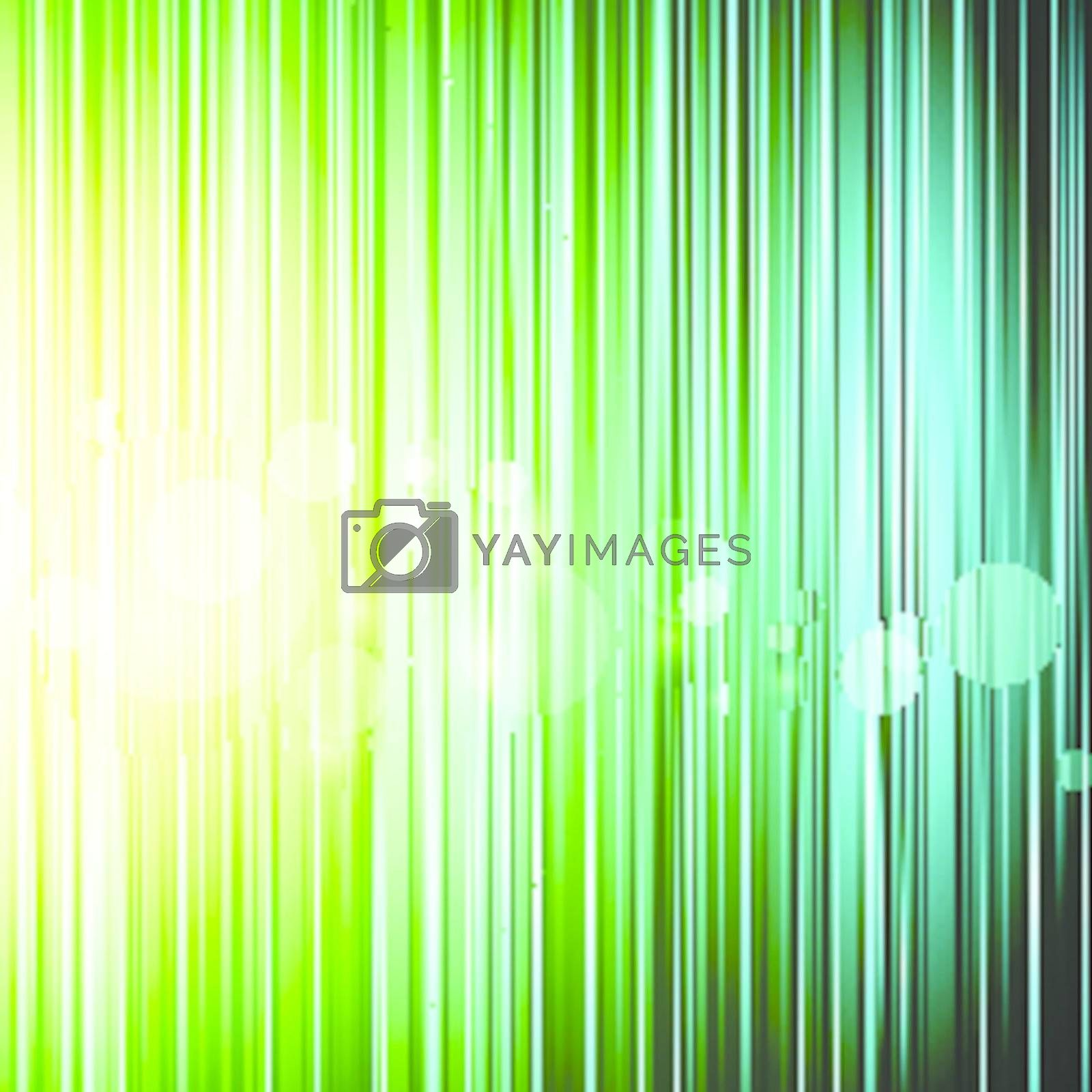 creative abstract bright background with light