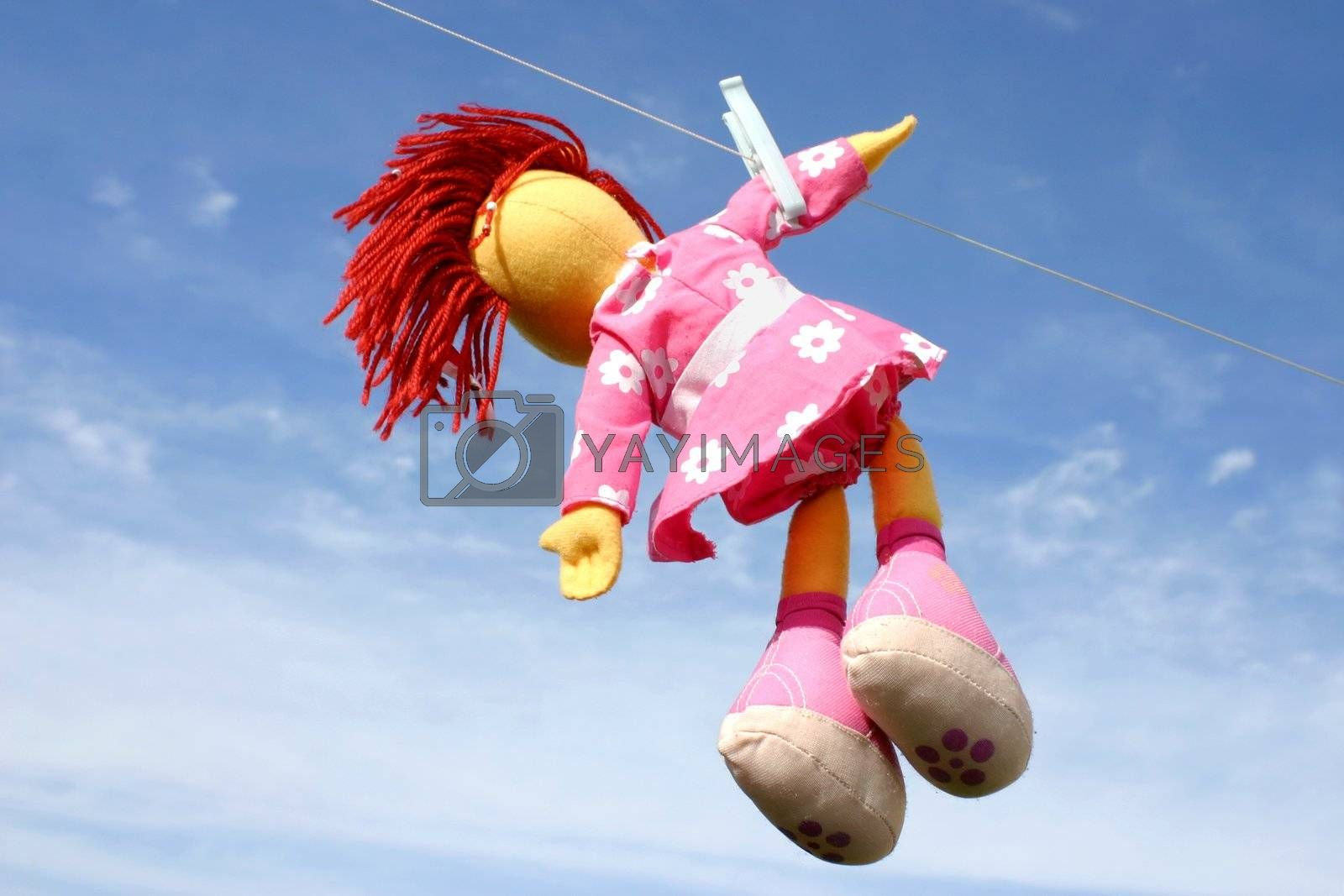 Hanging doll by Cebas