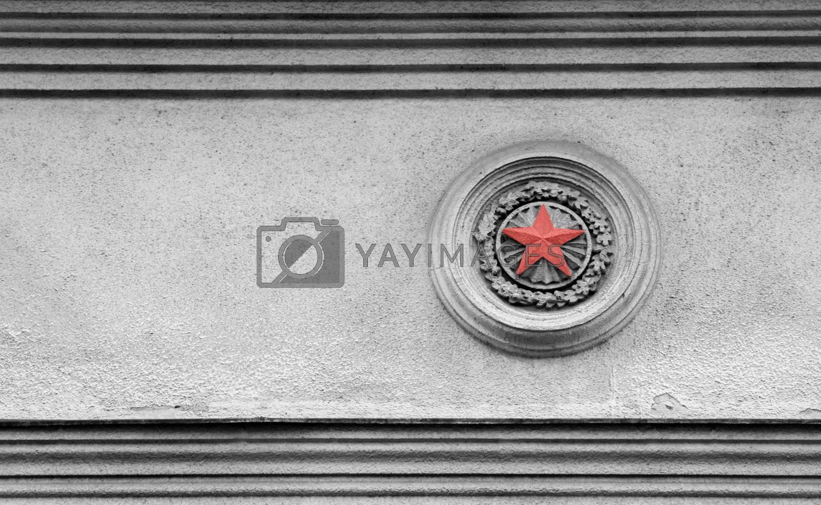 Red star by Vaidas Bucys