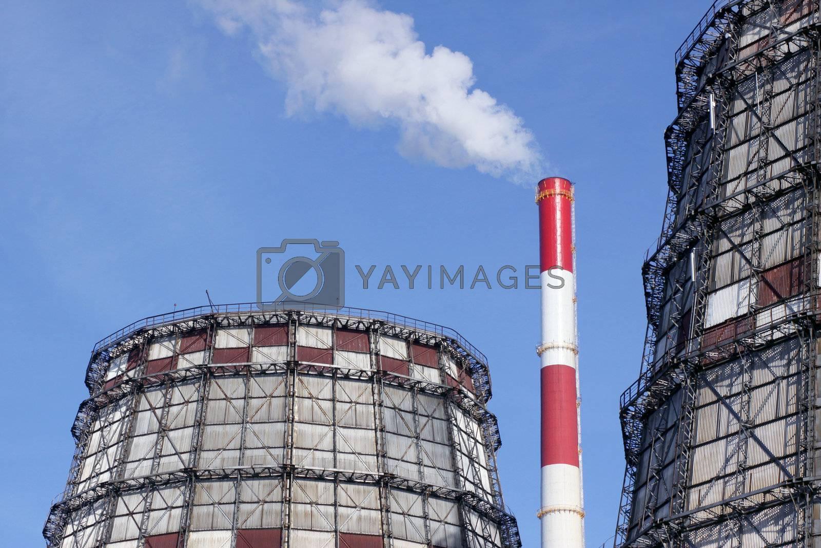 Power station by Vaidas Bucys