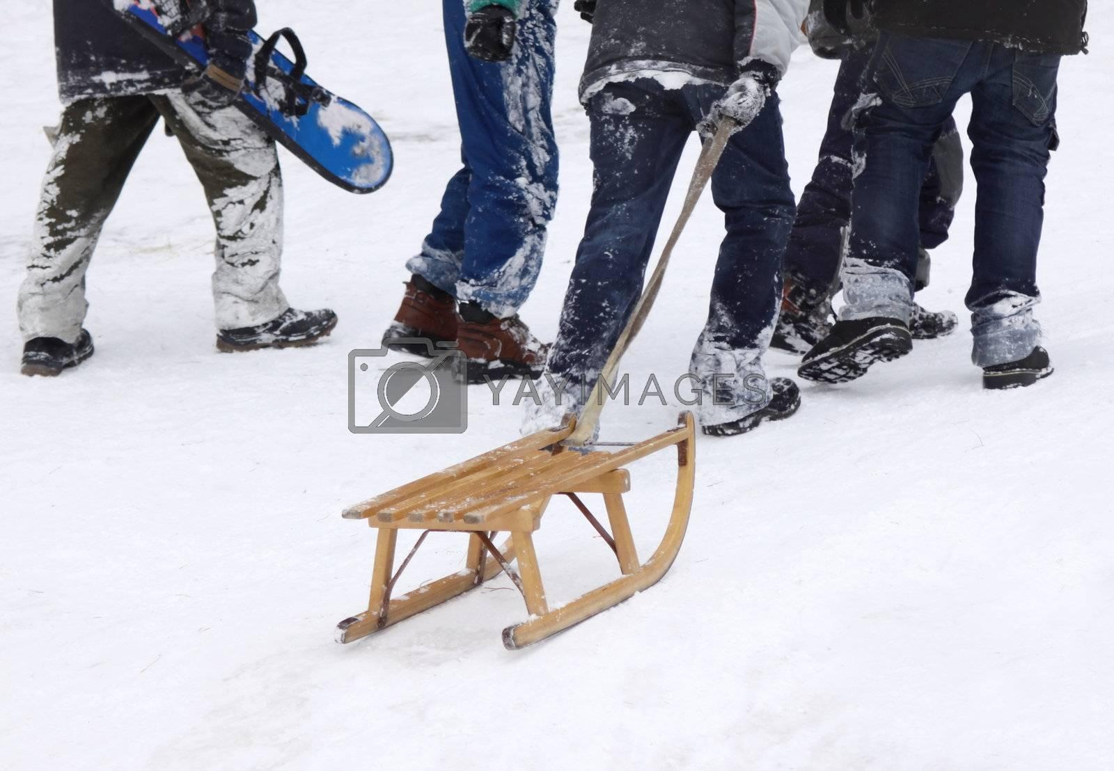 Winter fun by Vaidas Bucys