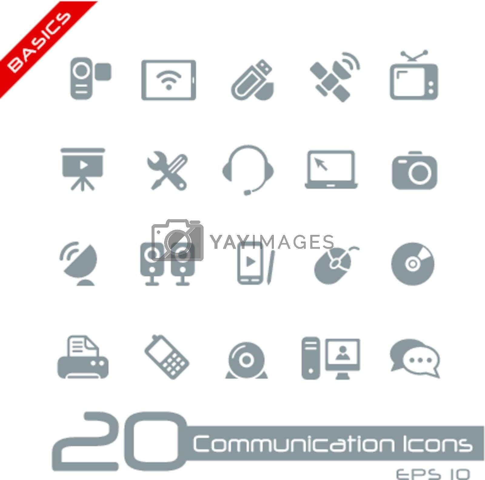 Vector icons set for your web or presentation projects.