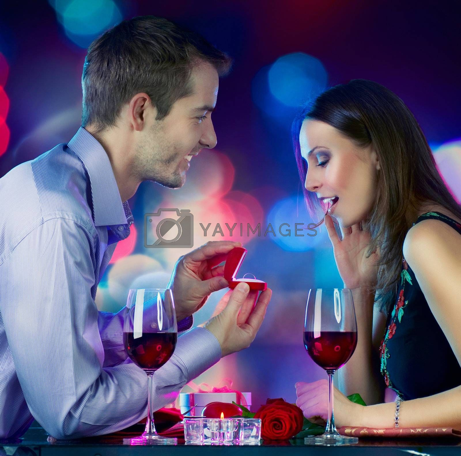Valentine's Day. Marriage Proposal