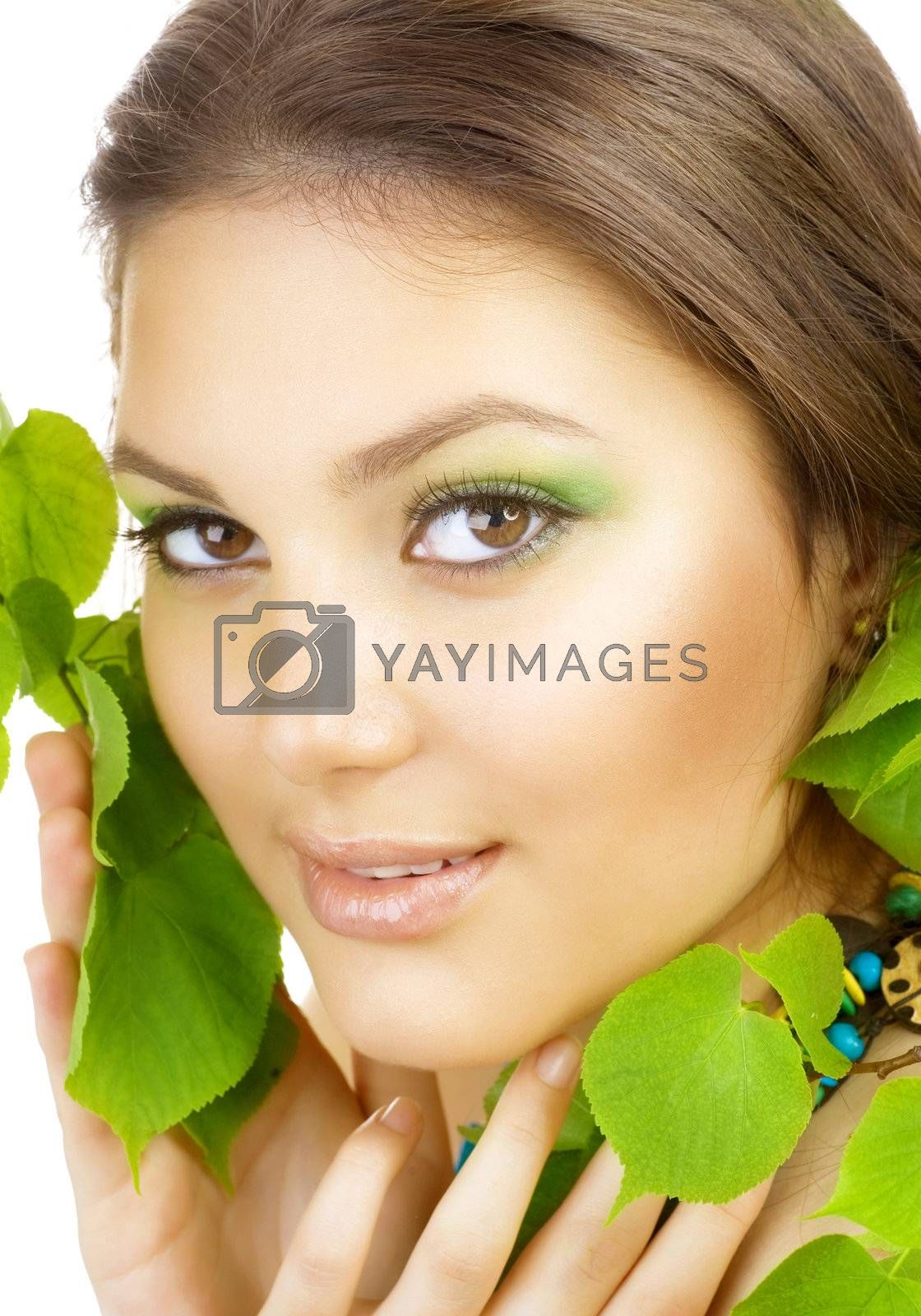 Spring Beauty Outdoor. Perfect Skin