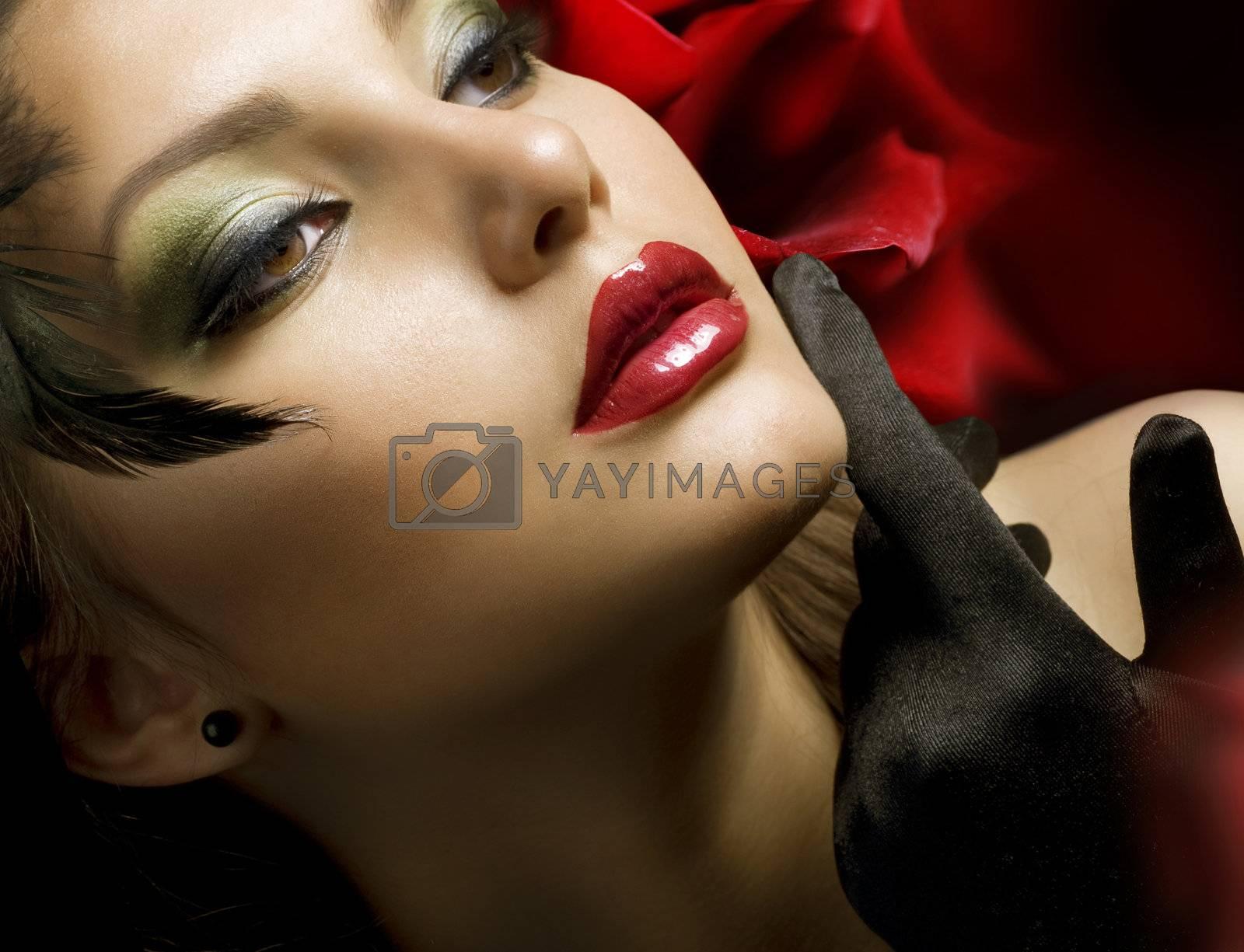Fashion Woman. Luxury Style