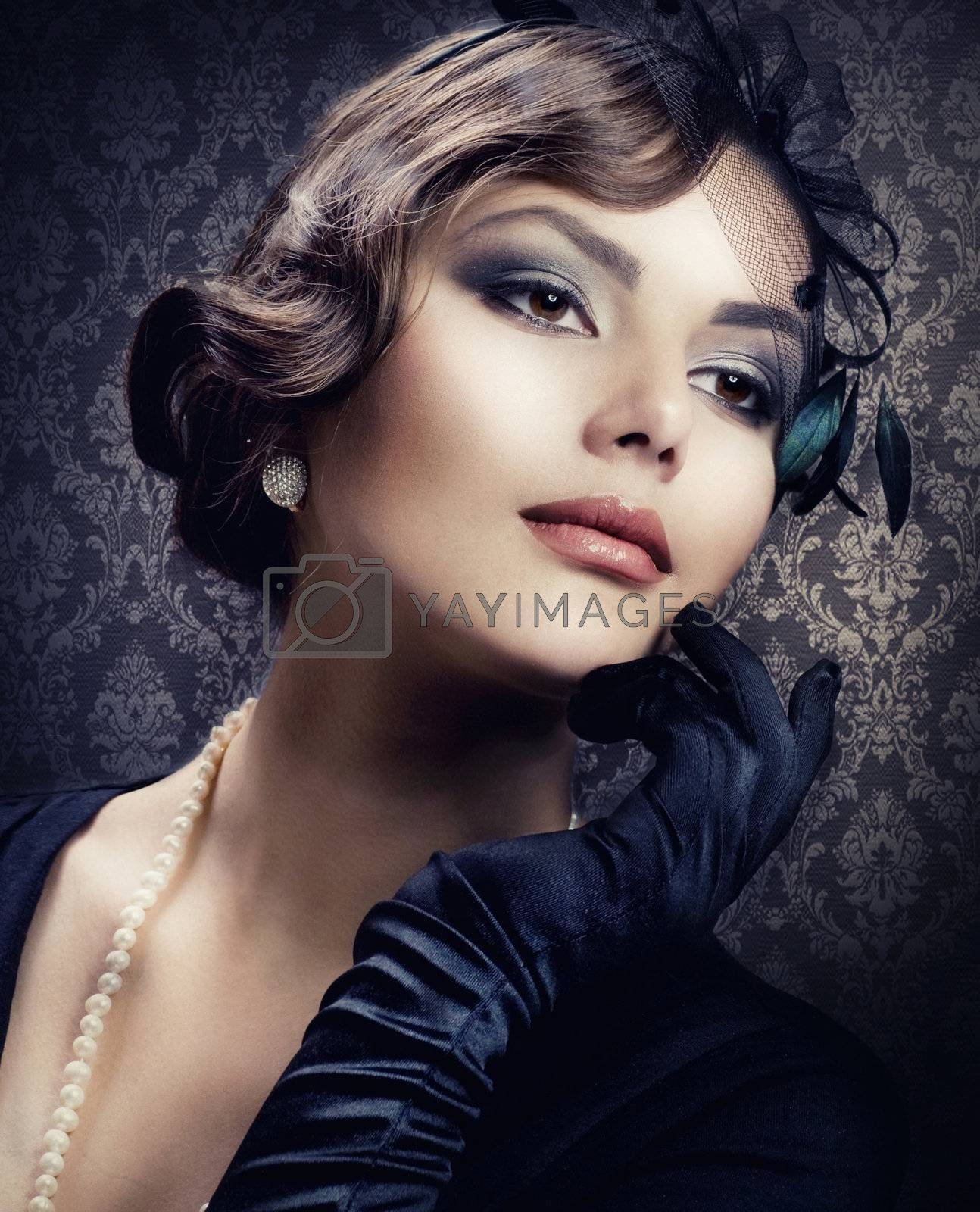 Romantic Beauty. Retro Style by SubbotinaA