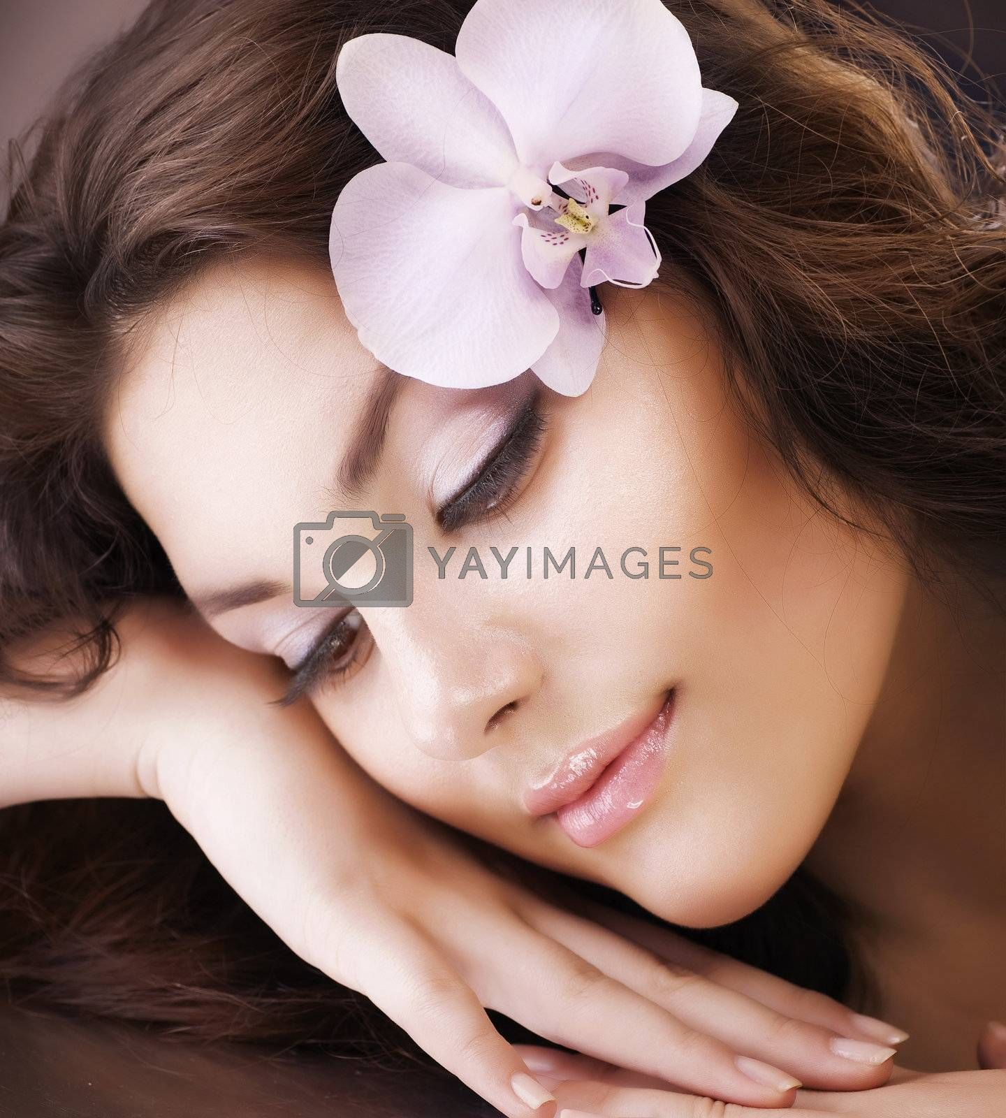Beautiful Spa Woman