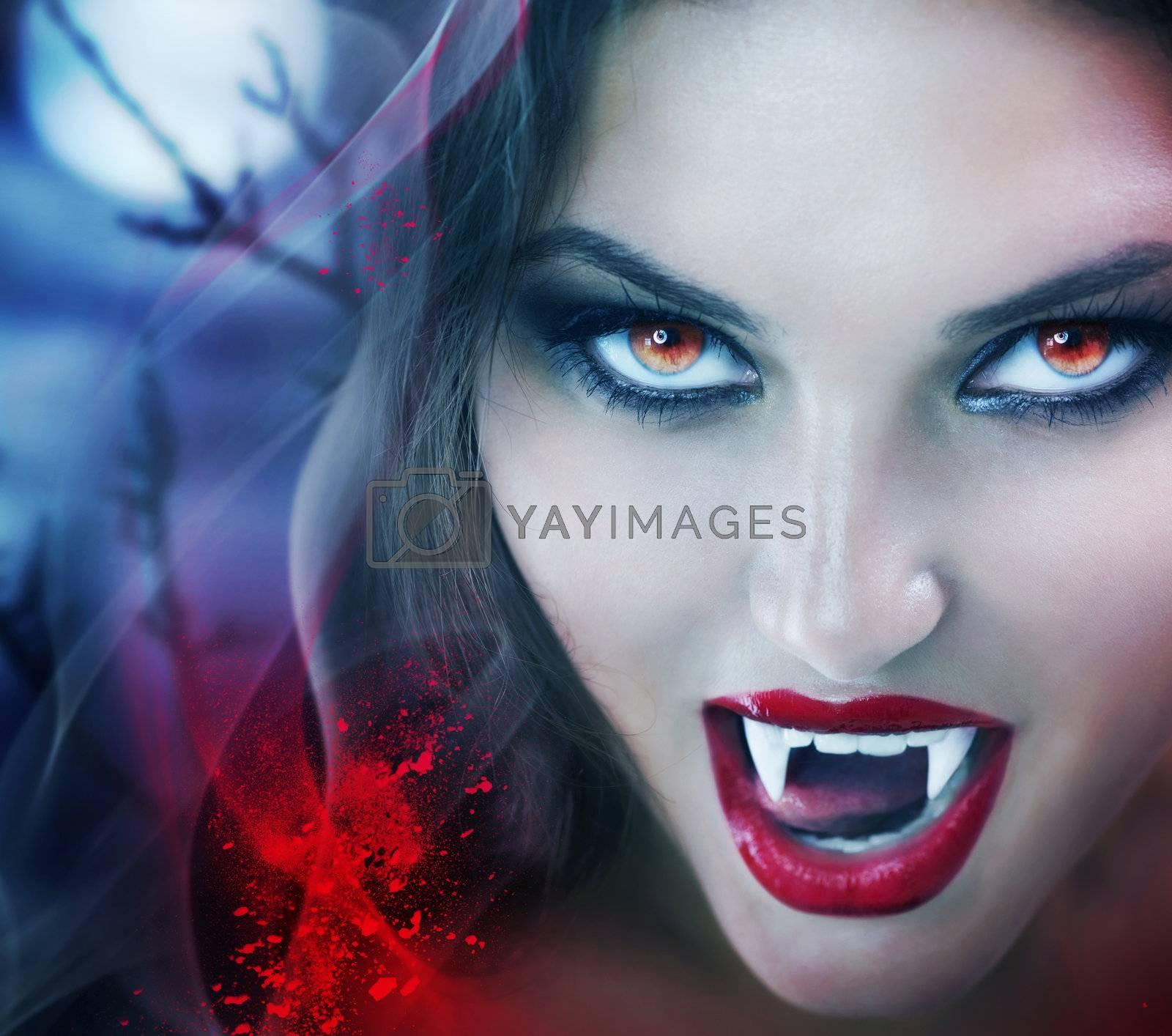 Royalty free image of Vampire by SubbotinaA