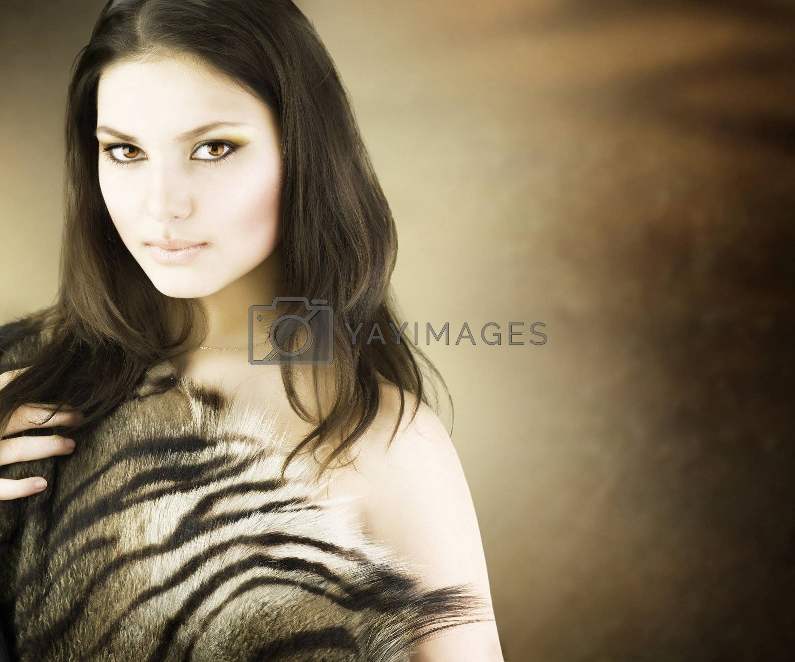 Beautiful Savage Girl
