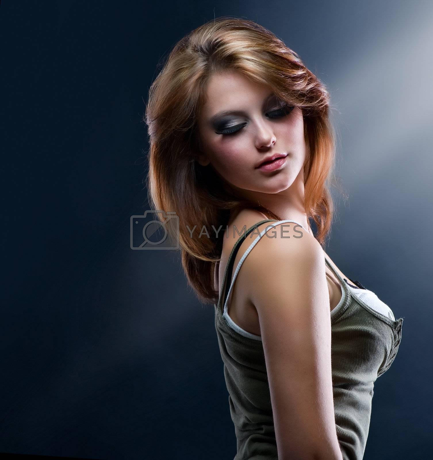 Fashion Dancing Girl  by SubbotinaA