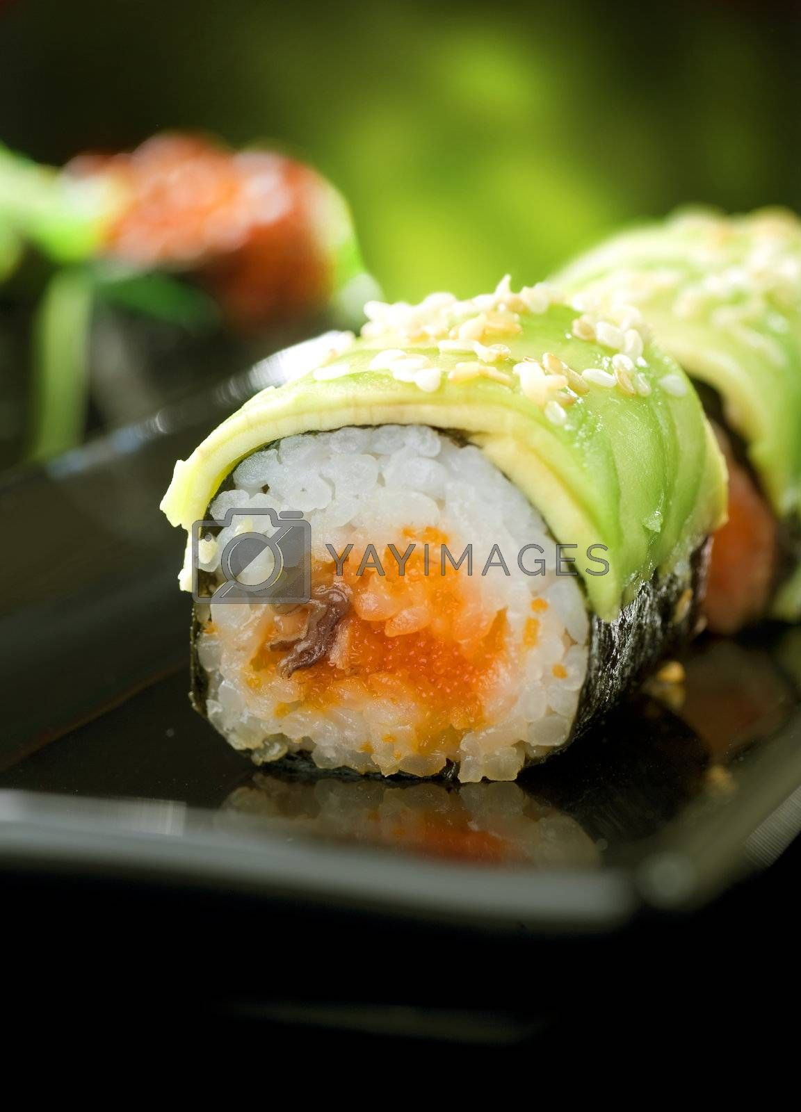 Sushi Rolls  by Subbotina Anna