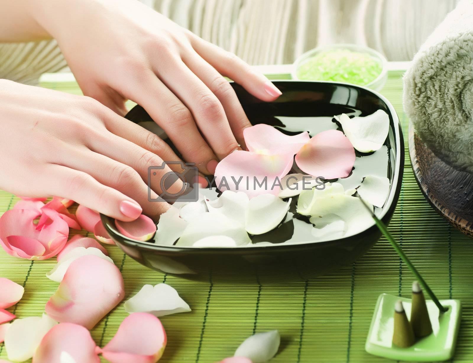 Luxury Manicure Concept  by Subbotina Anna