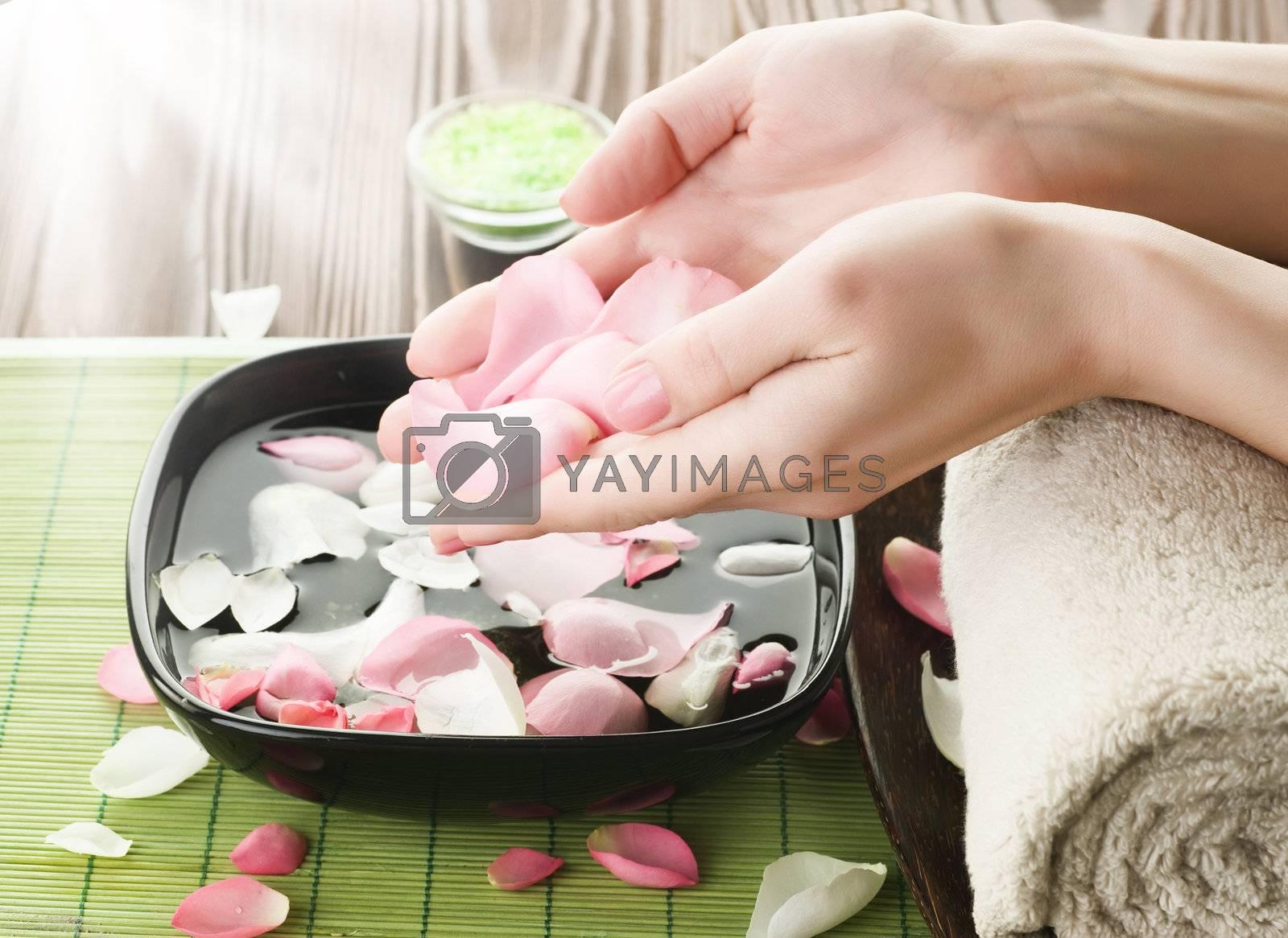 Luxury Manicure Concept. Spa by Subbotina Anna