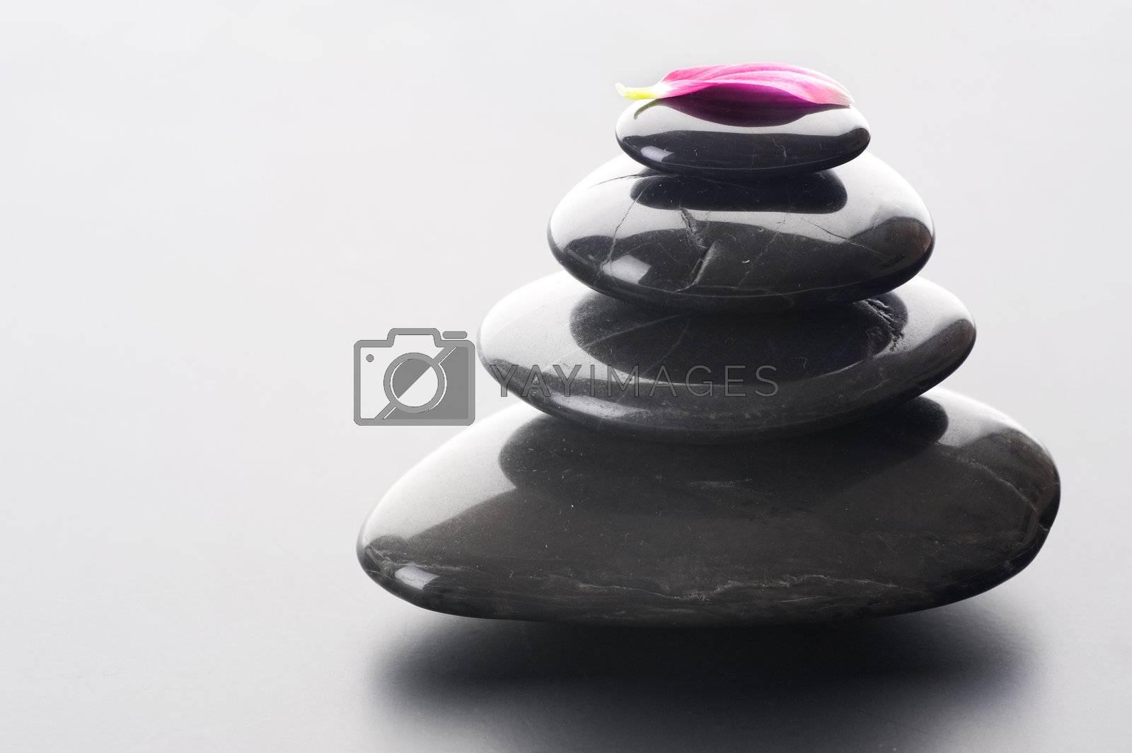 Zen Spa Stones Stack  by Subbotina Anna