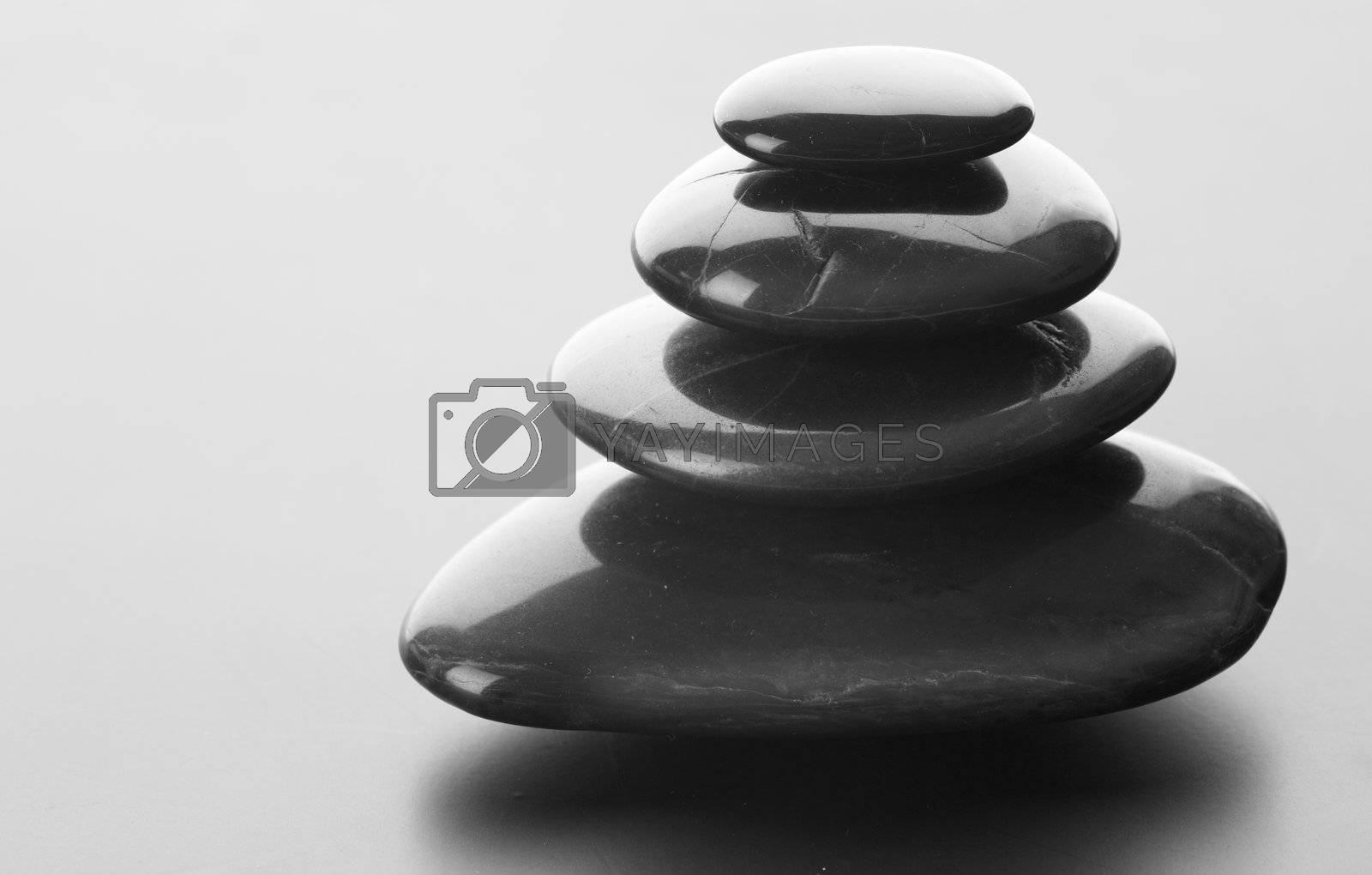 Zen Stones by Subbotina Anna