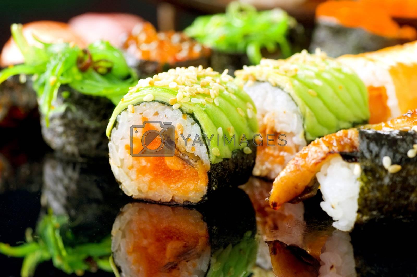 Sushi by Subbotina Anna
