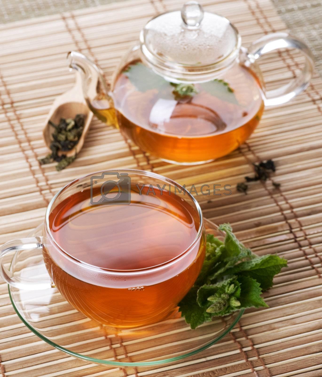 Mint Tea by Subbotina Anna